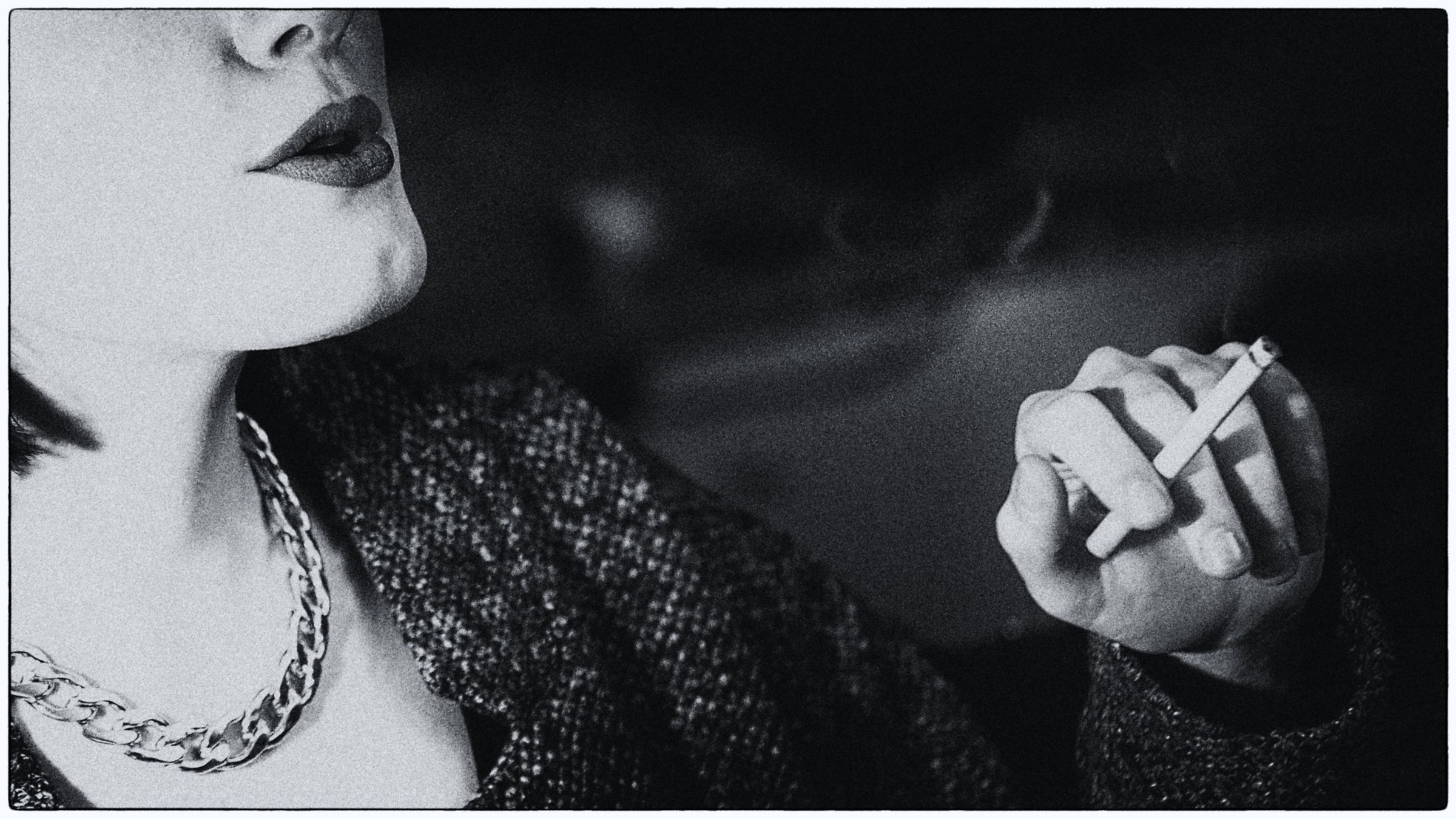 smoking girl...