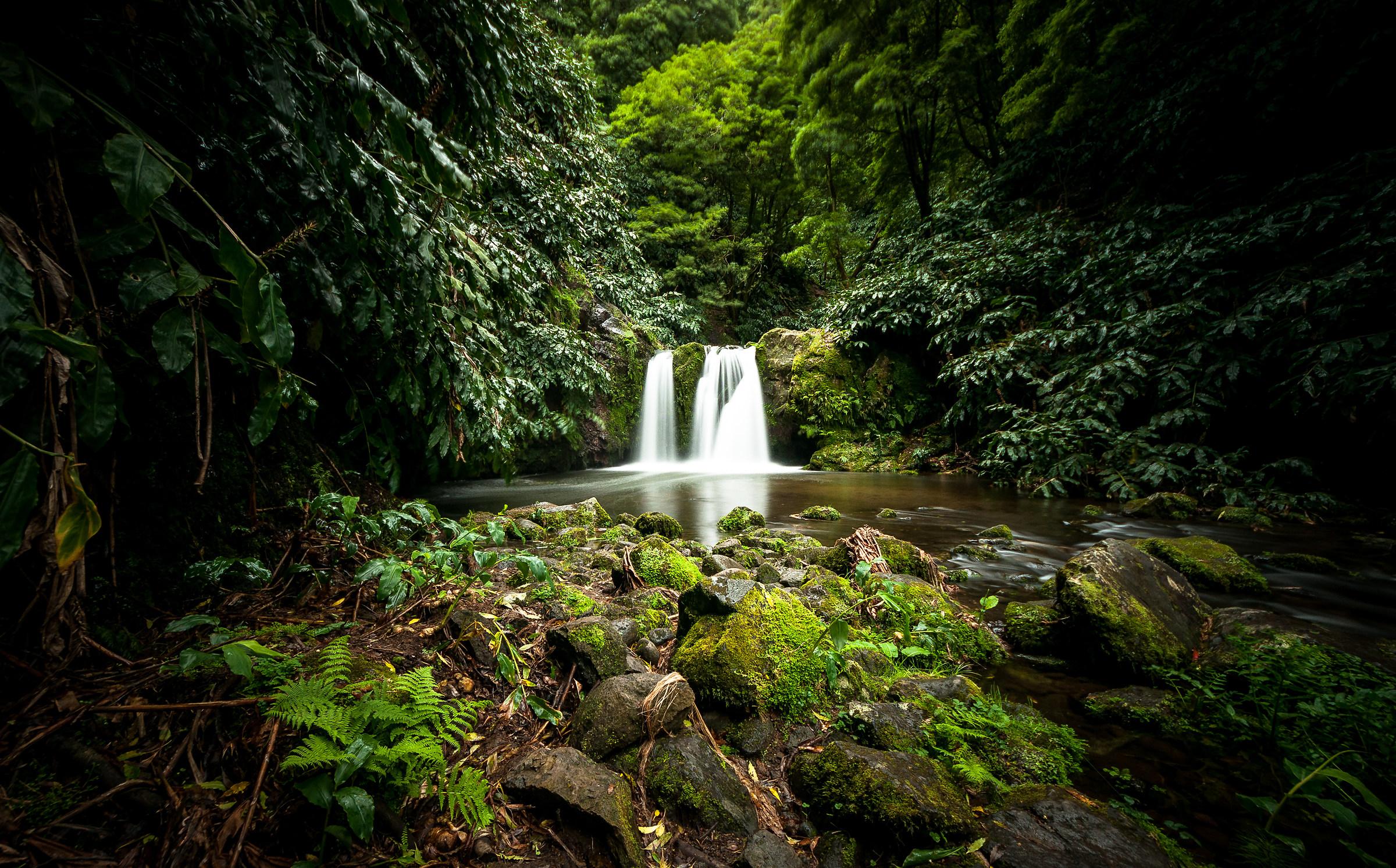 One of the cascades of Achada, São Miguel, Azores...