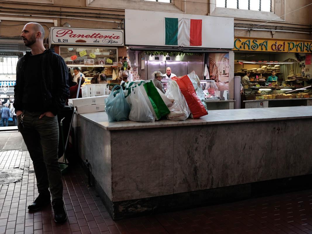 Italian yes, no Italy...