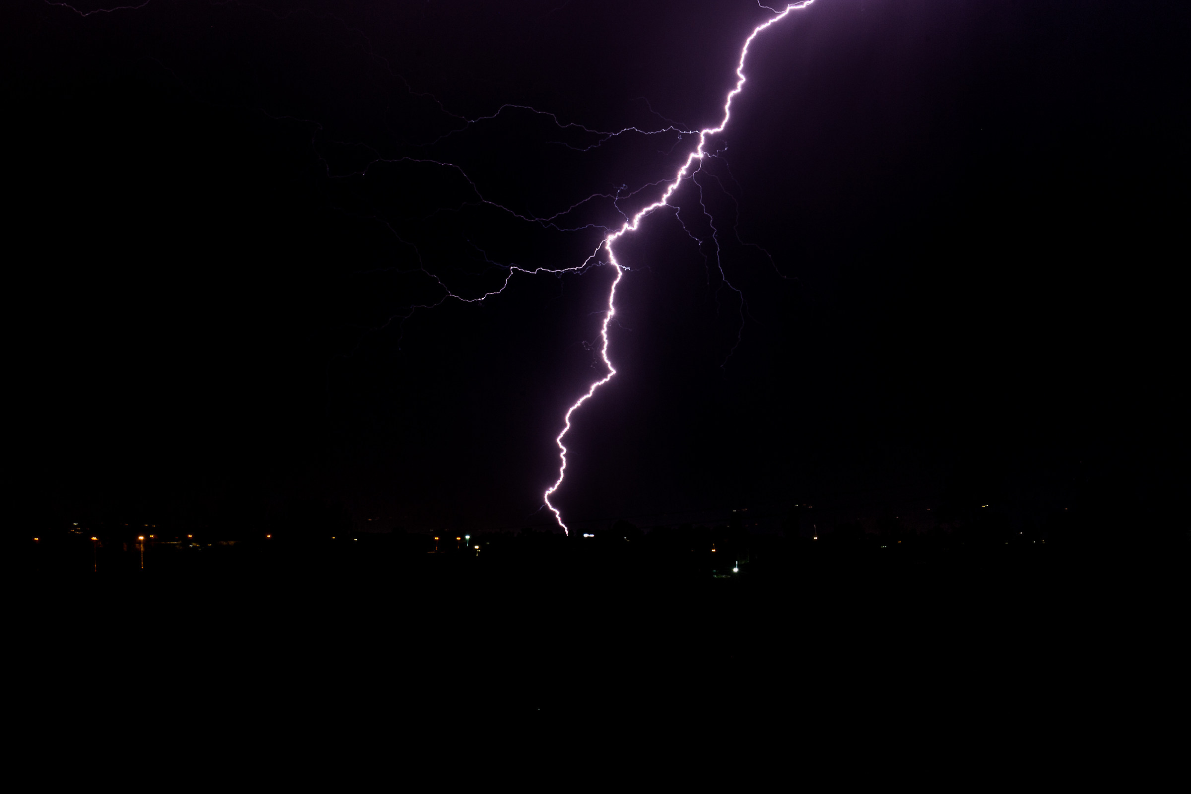 Lightning 1 (on the ground)...