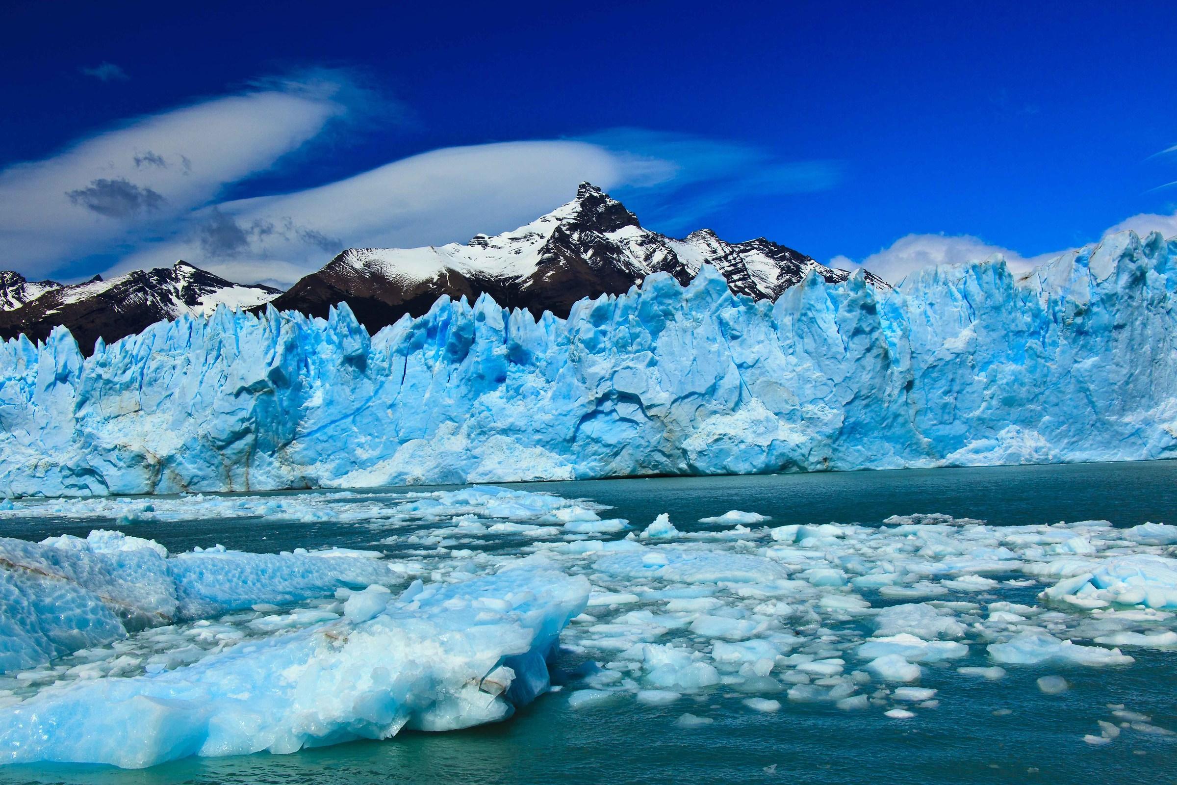 Los glaciares...