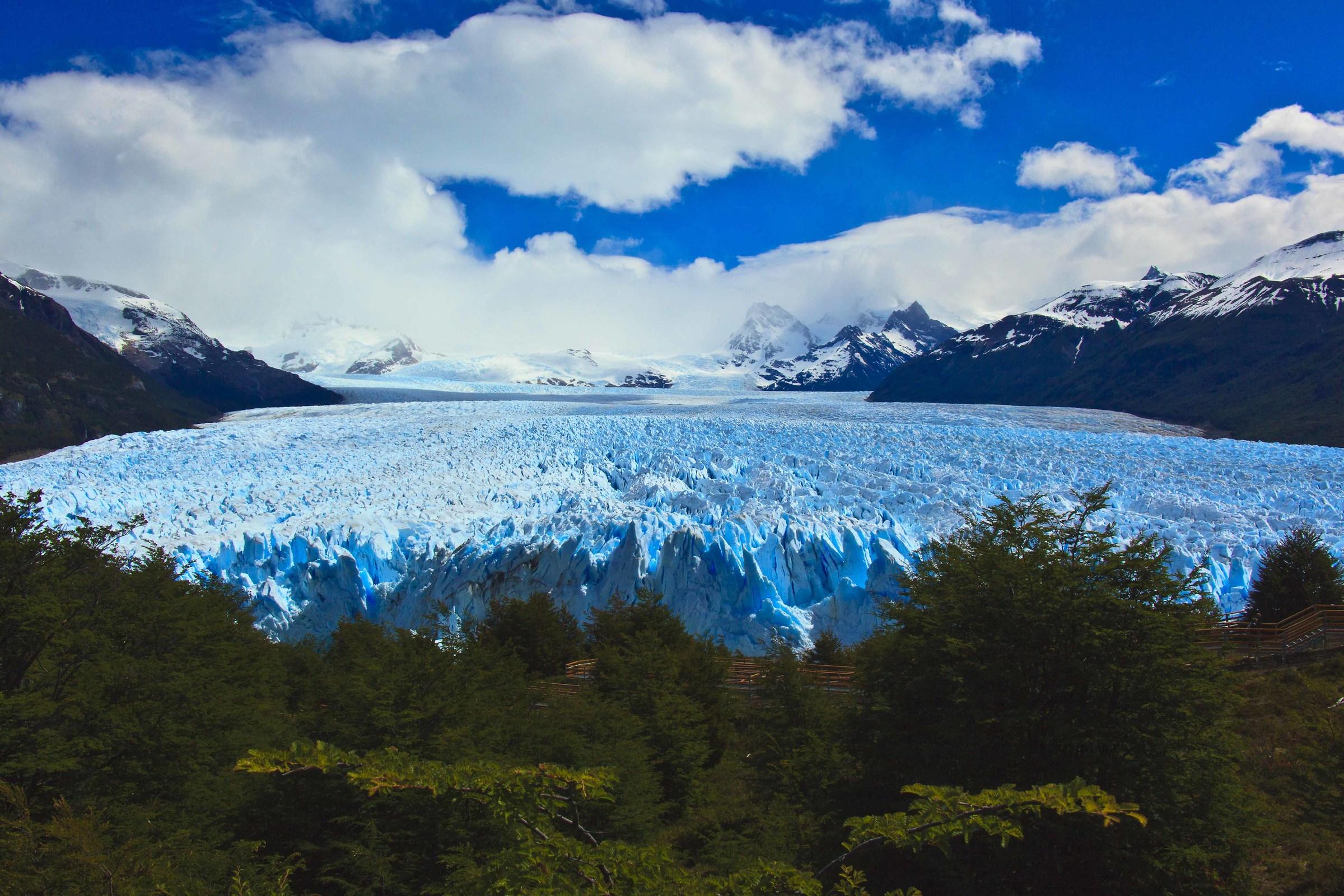 El Perito Moreno...