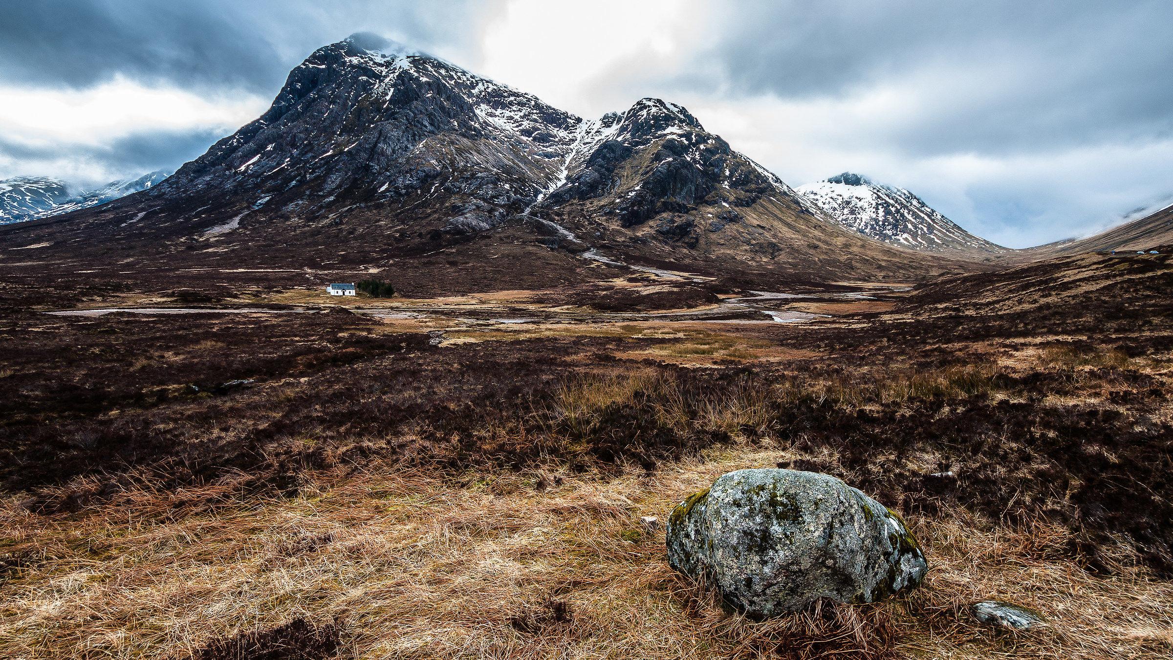 Valley Glenn Coe, Scotland...