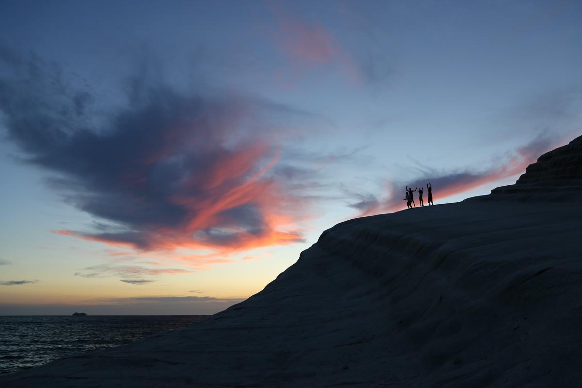 Sunset Scala dei Turchi...
