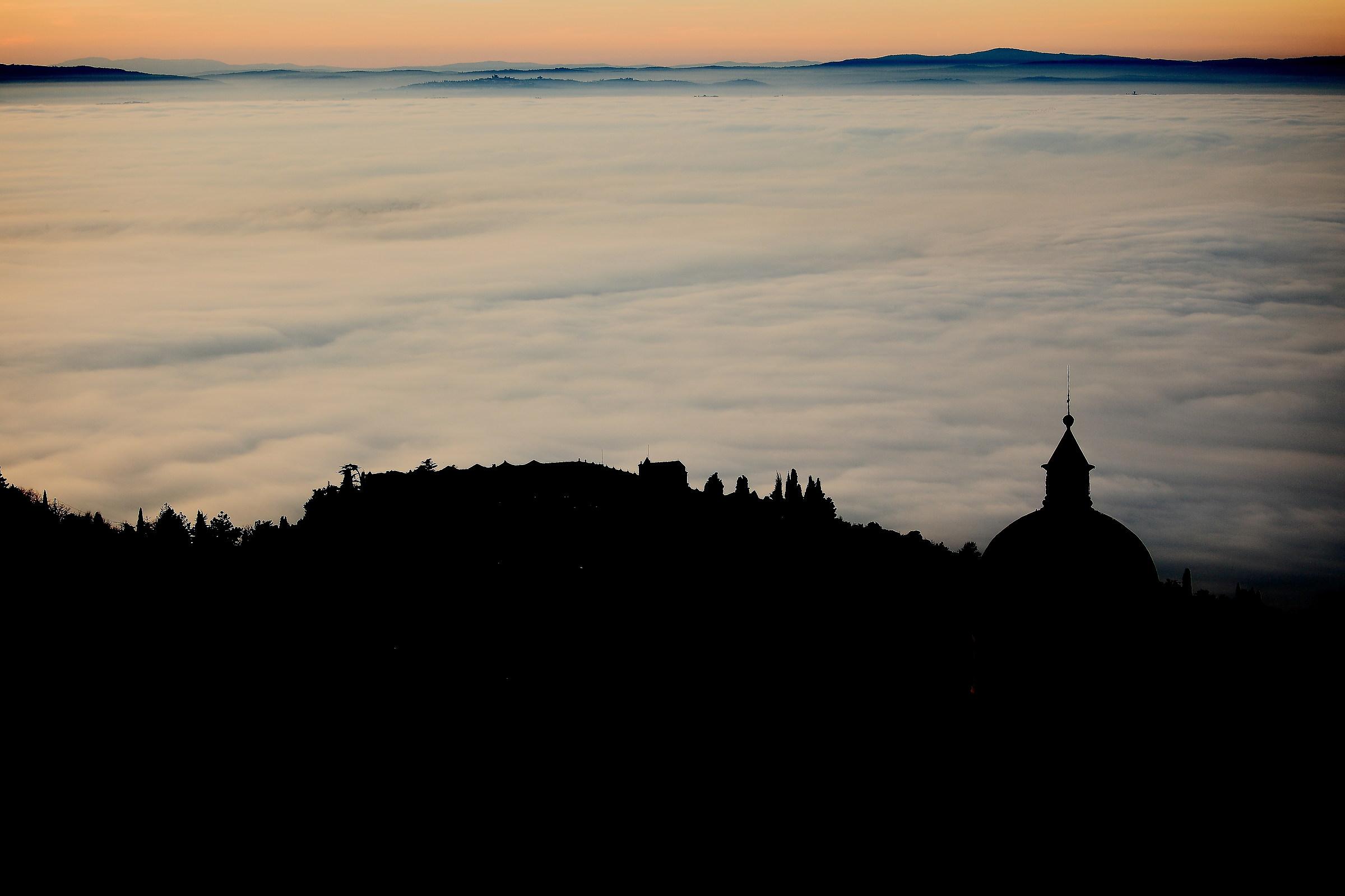 Fog only fog...