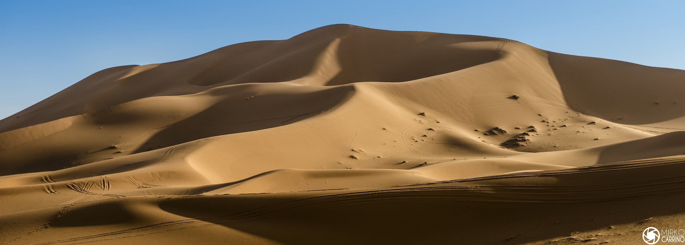 Shadows in the desert...