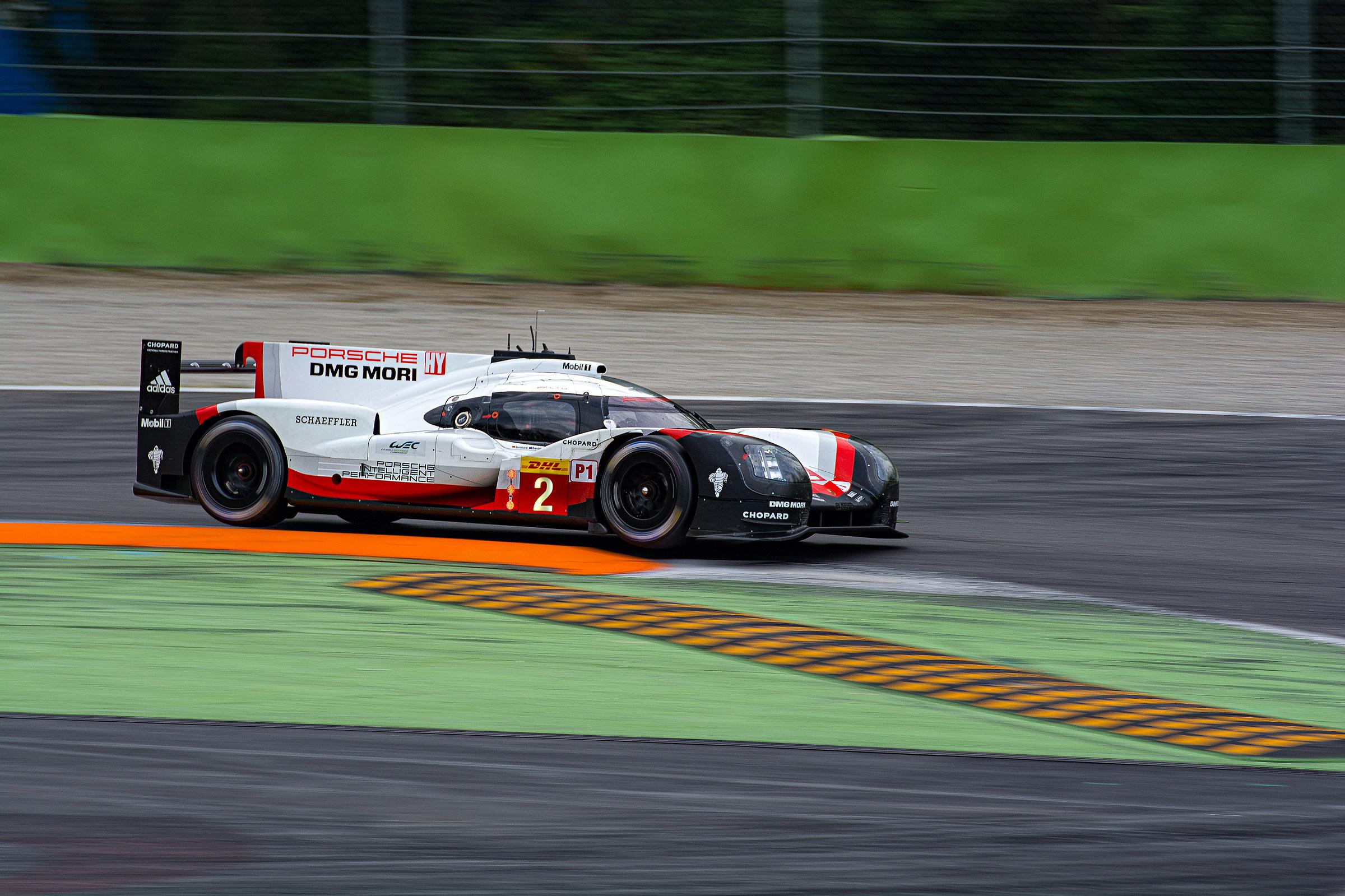 WEC Porsche 919 Hybrid LMP1 - WEC Prologue Monza...