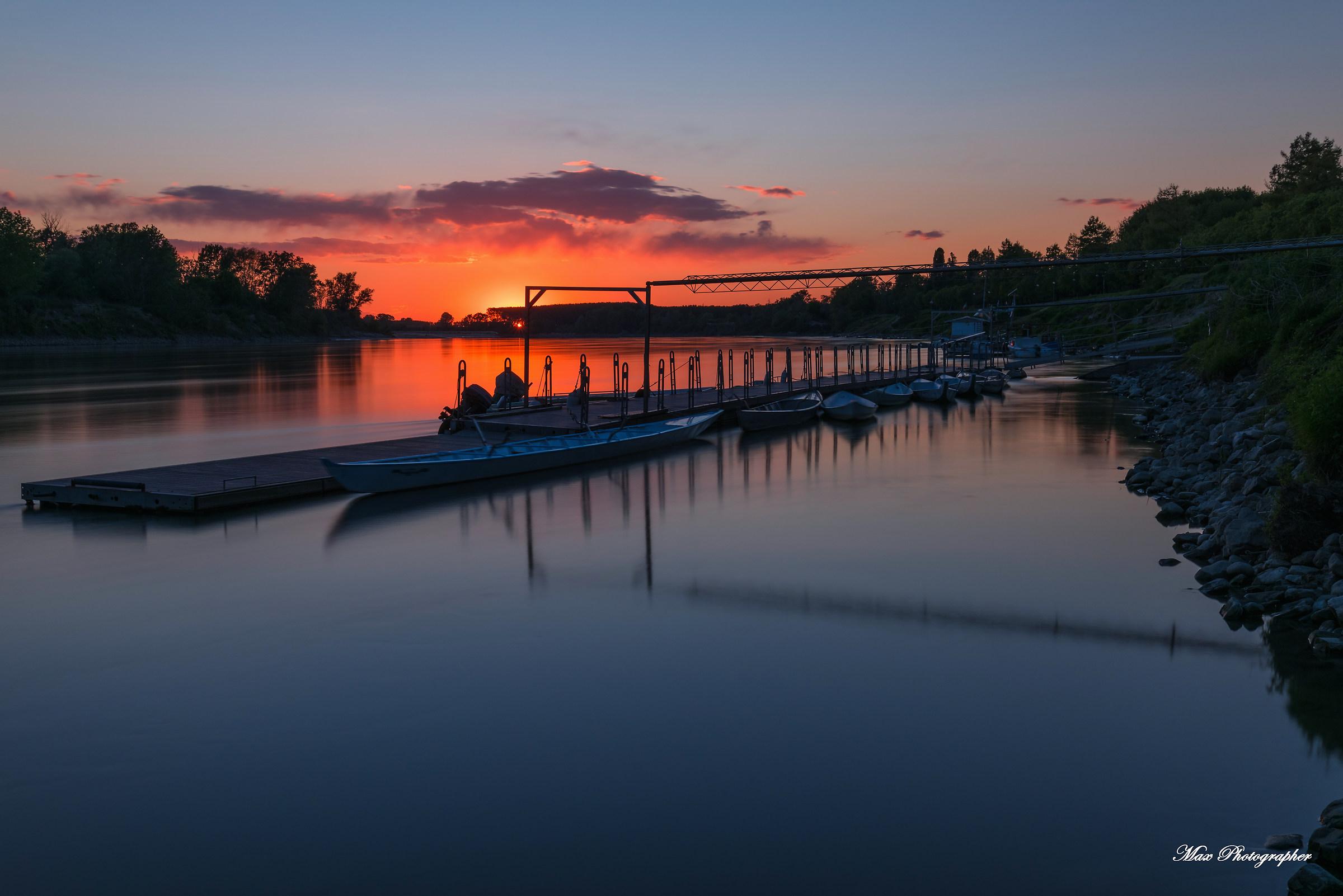 Fantastic sunset...