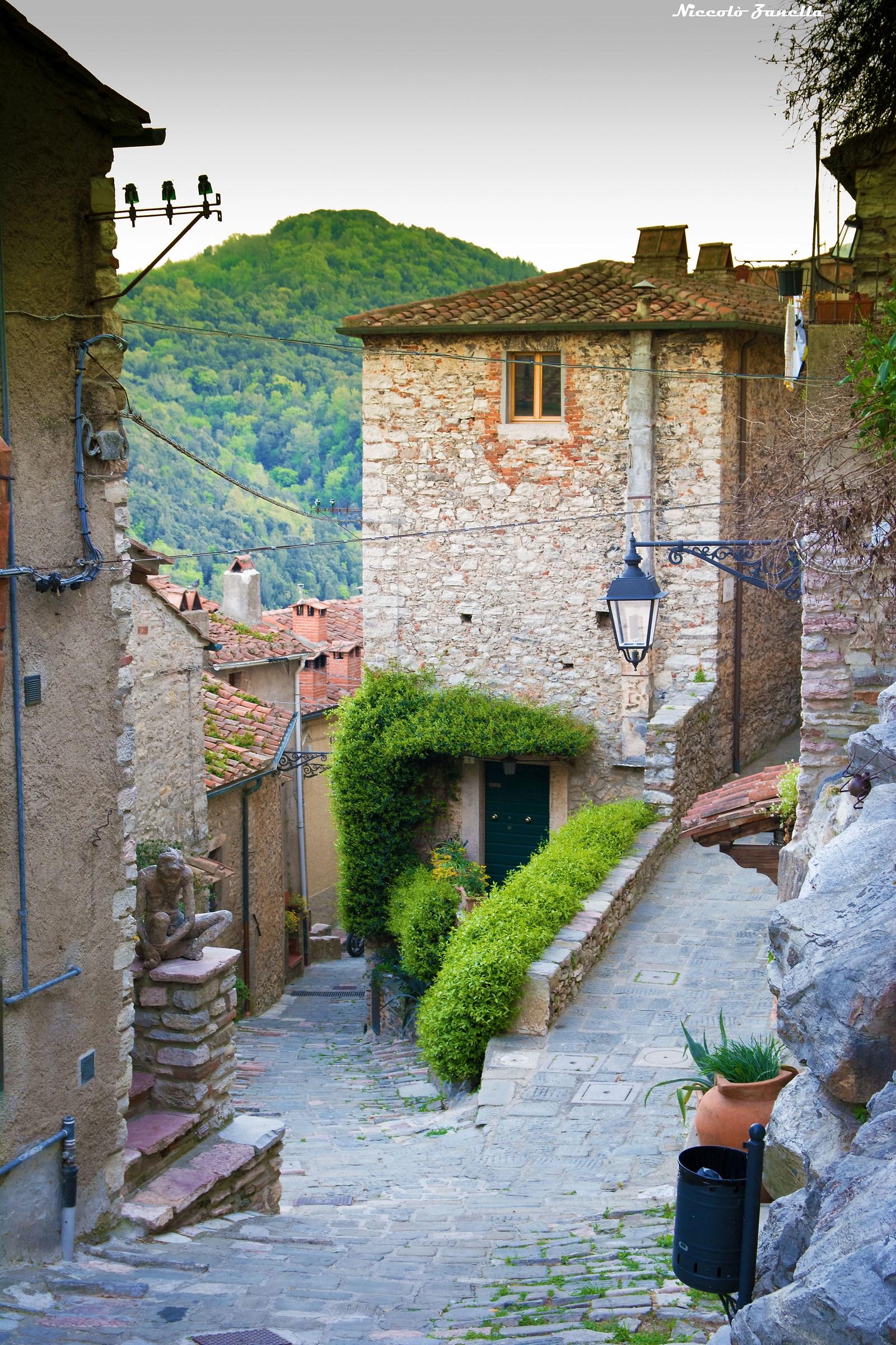 In the village of Sassetta...