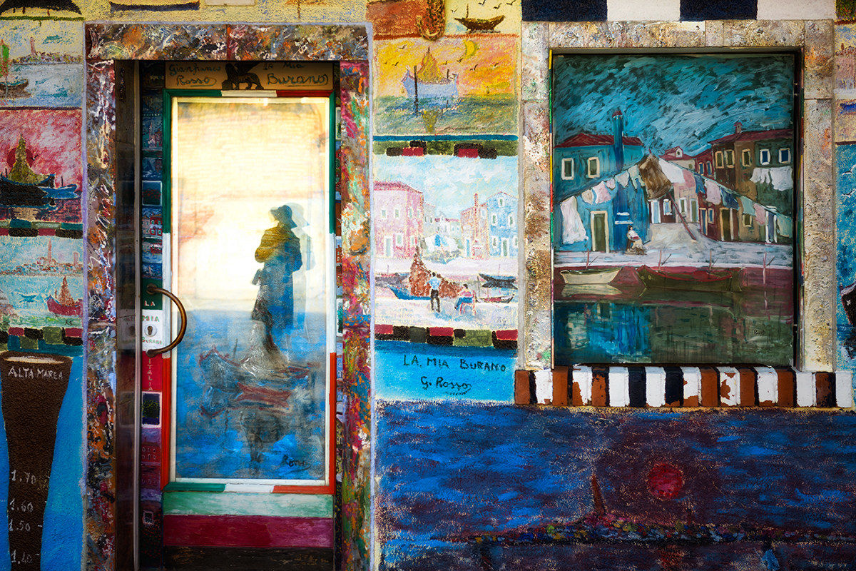 The lady of Burano...