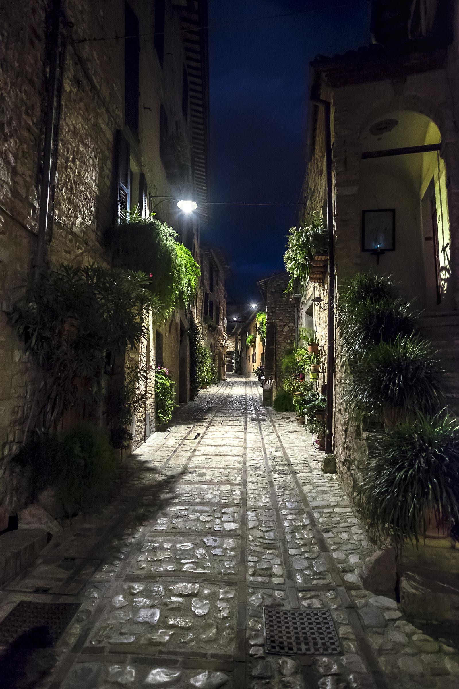 Spello by night - Umbria...