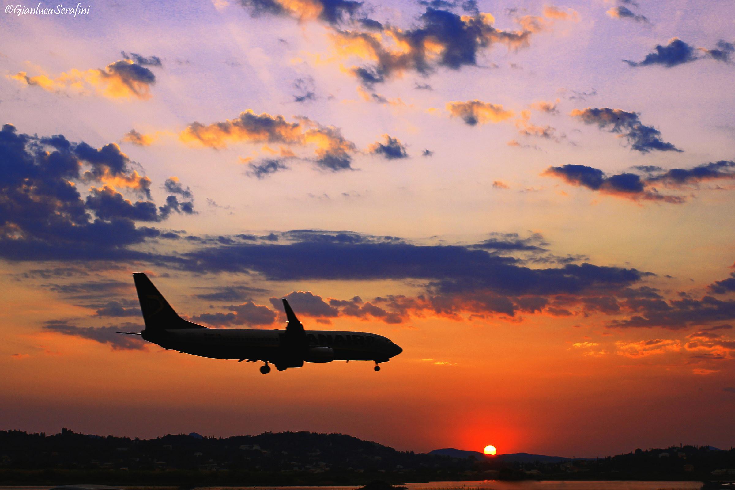 Landing in ??????? (Corfu)...
