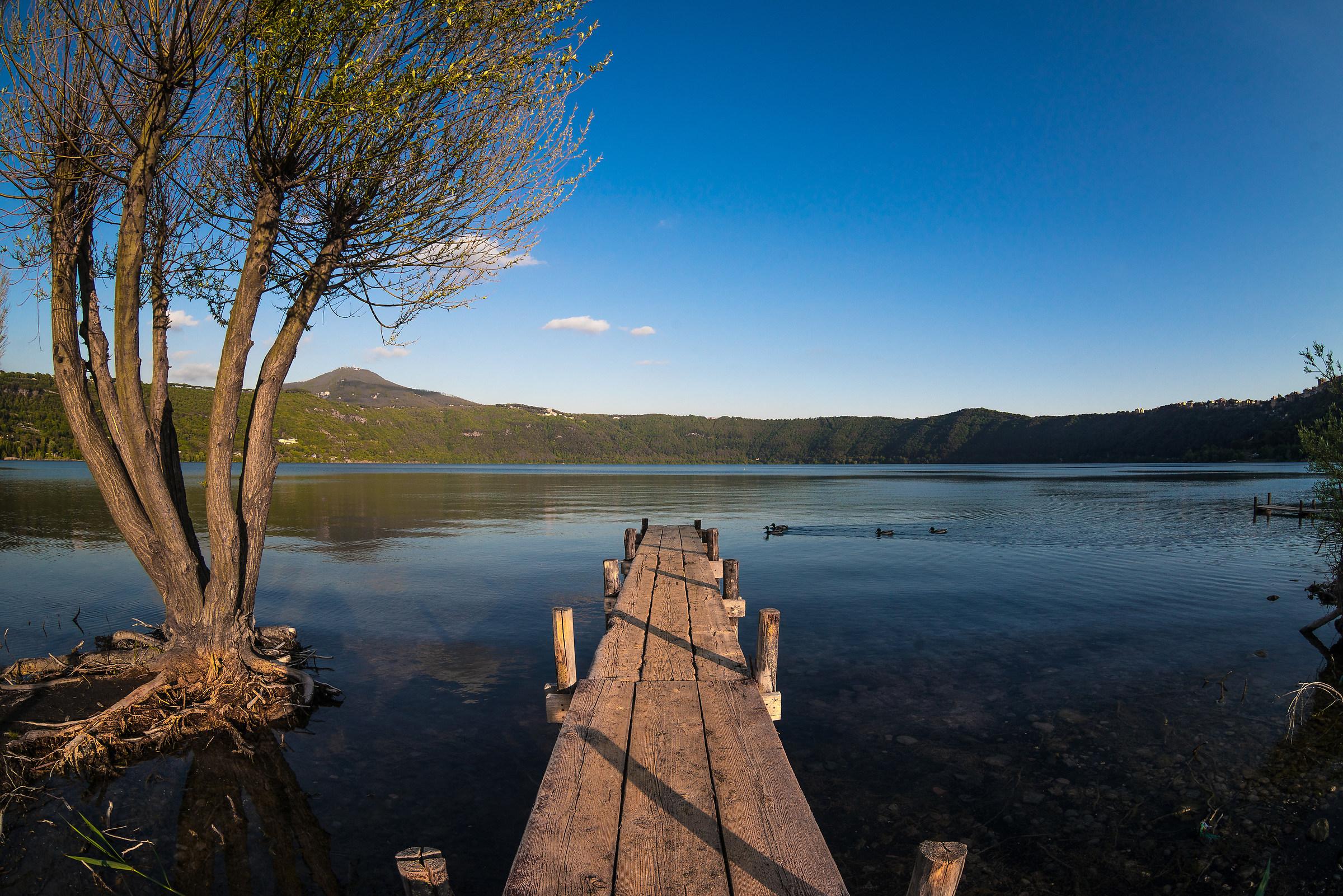 Una giornata al lago....