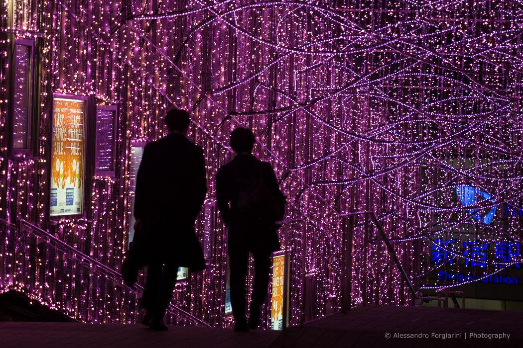 Tokyo winter lights...