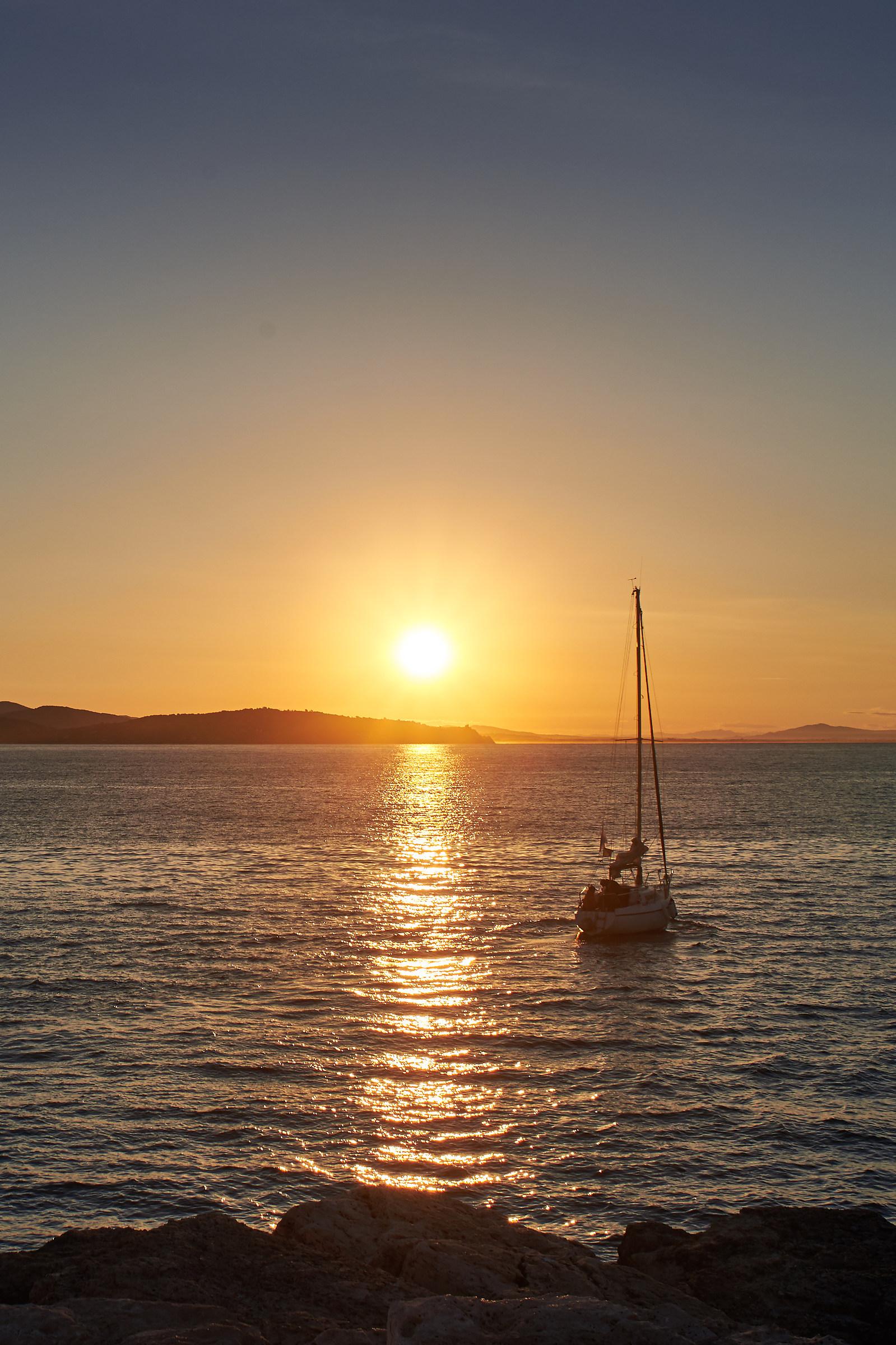 Dawn in Porto Ercole...