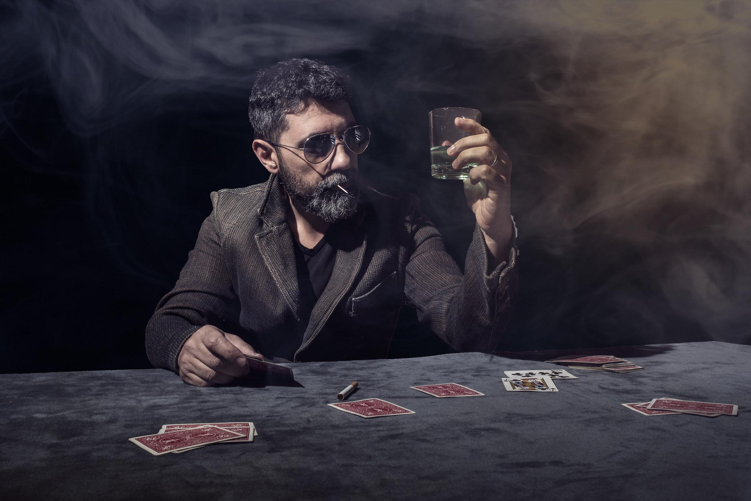 Gambling...
