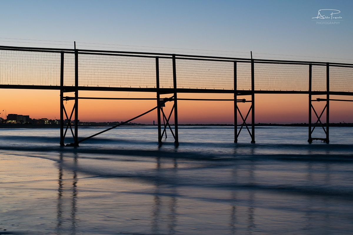 The pier...
