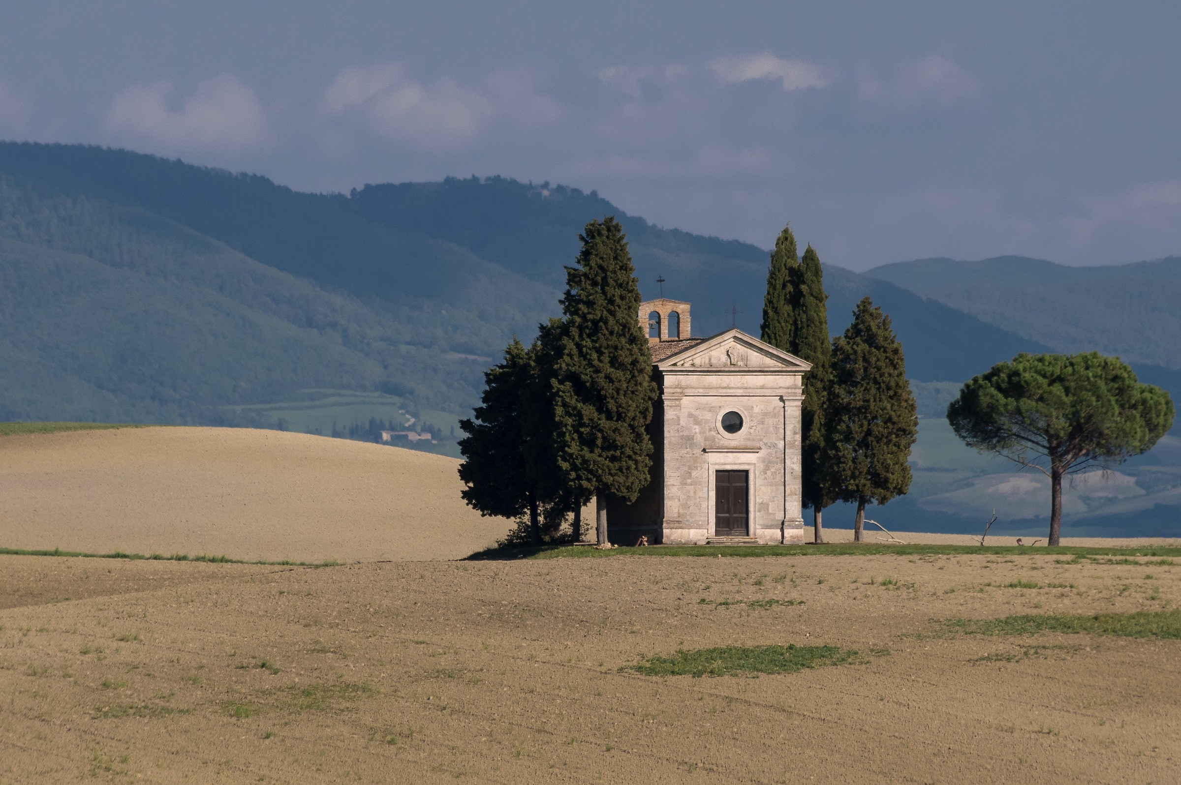 Val d'Orcia, Chapel Madonna of Vitality...