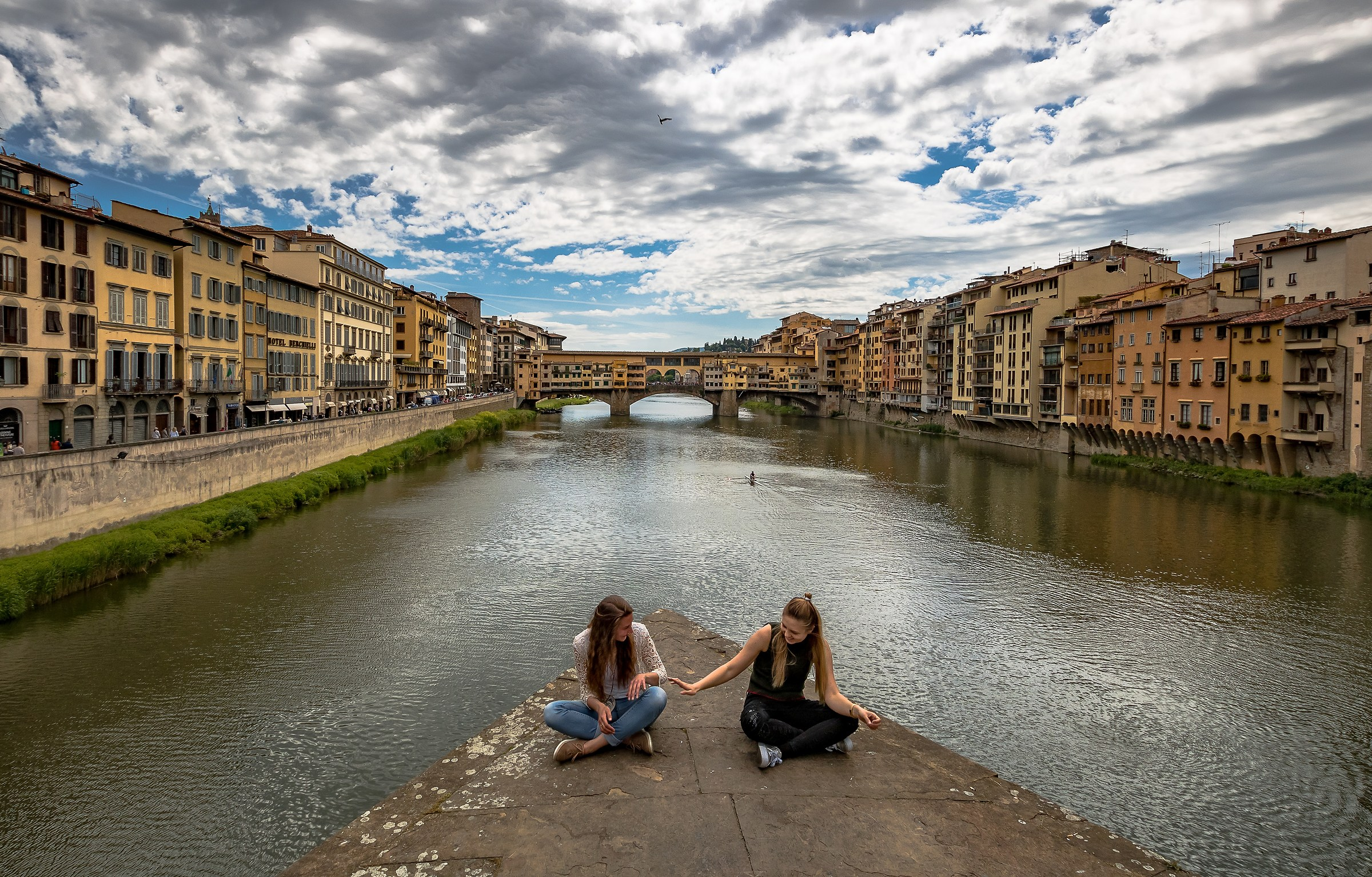 In equilibrio sull'Arno...