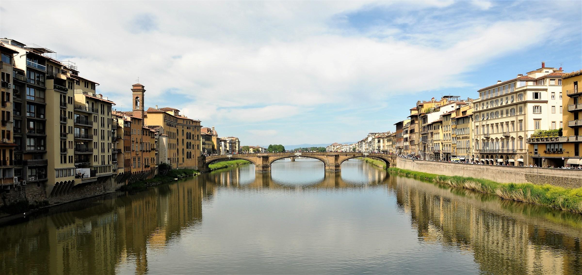 From Ponte Vecchio...