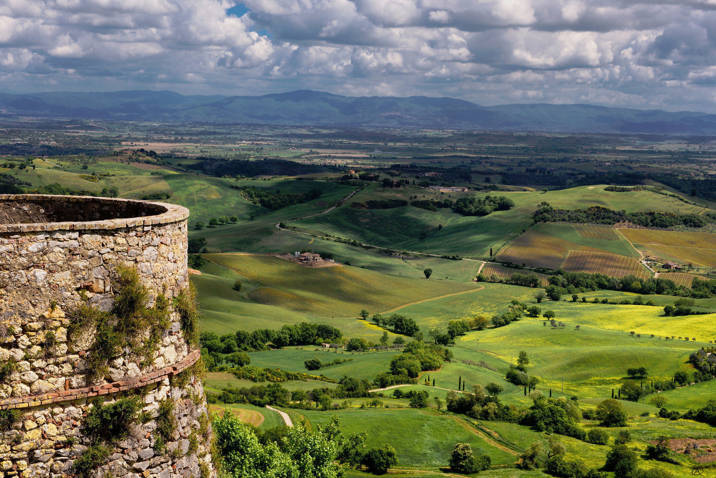 View from Montefollonico...