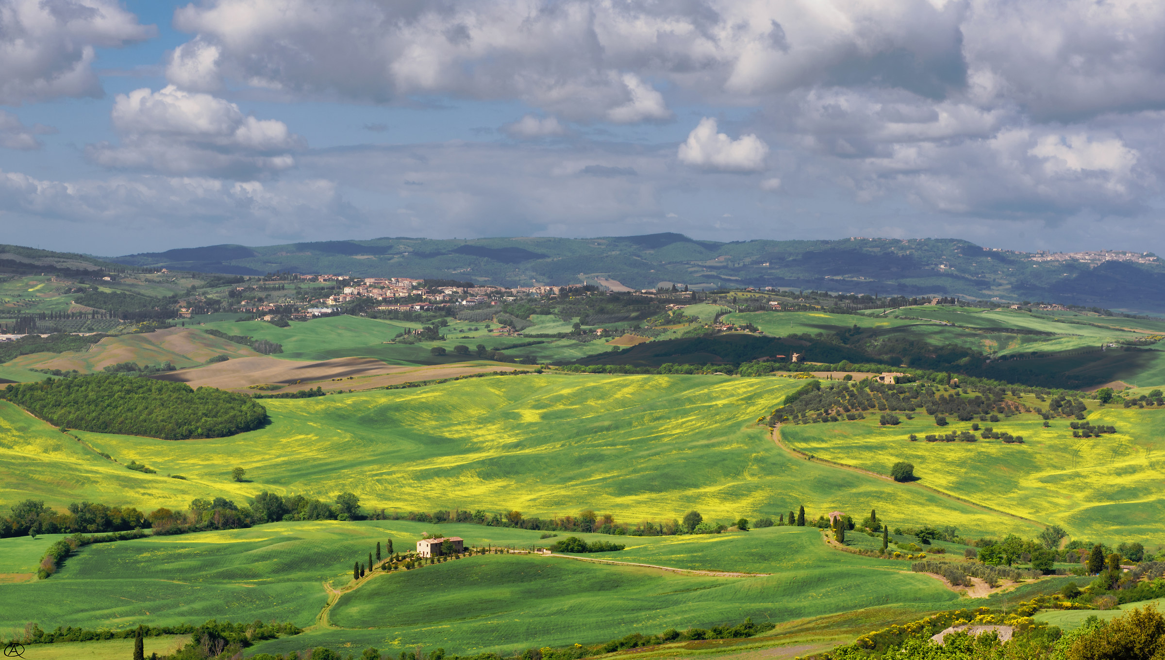 View from Pienza...