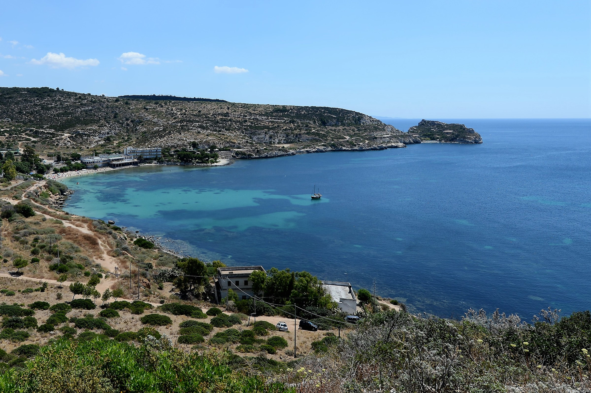 "The beach of Calamosca ""Cagliari""..."