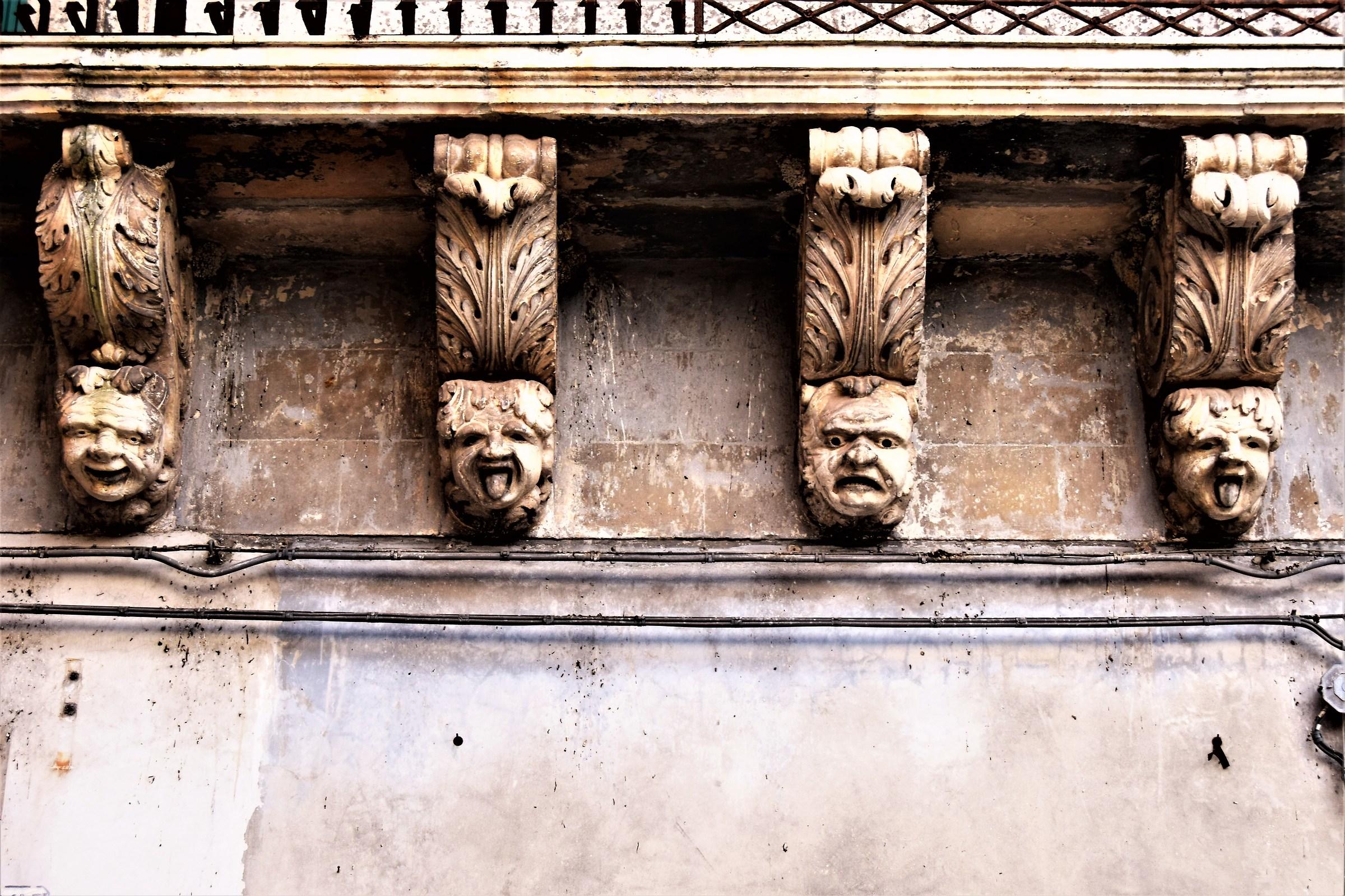 Tratto1 Baroque Halls Palace Iudica (today Caruso)...