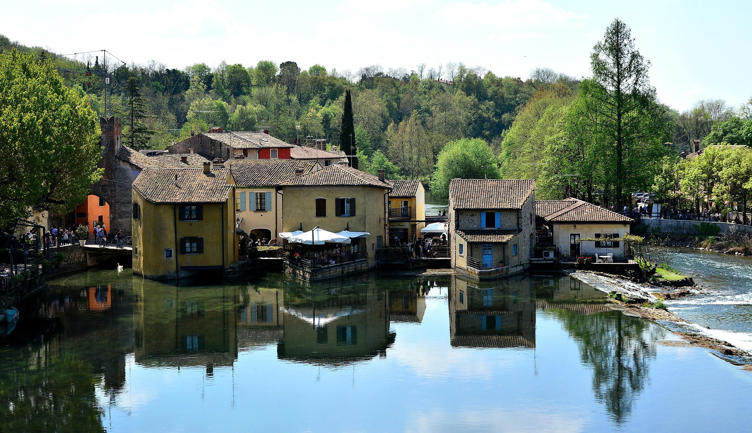 Borghetto on the Mincio...
