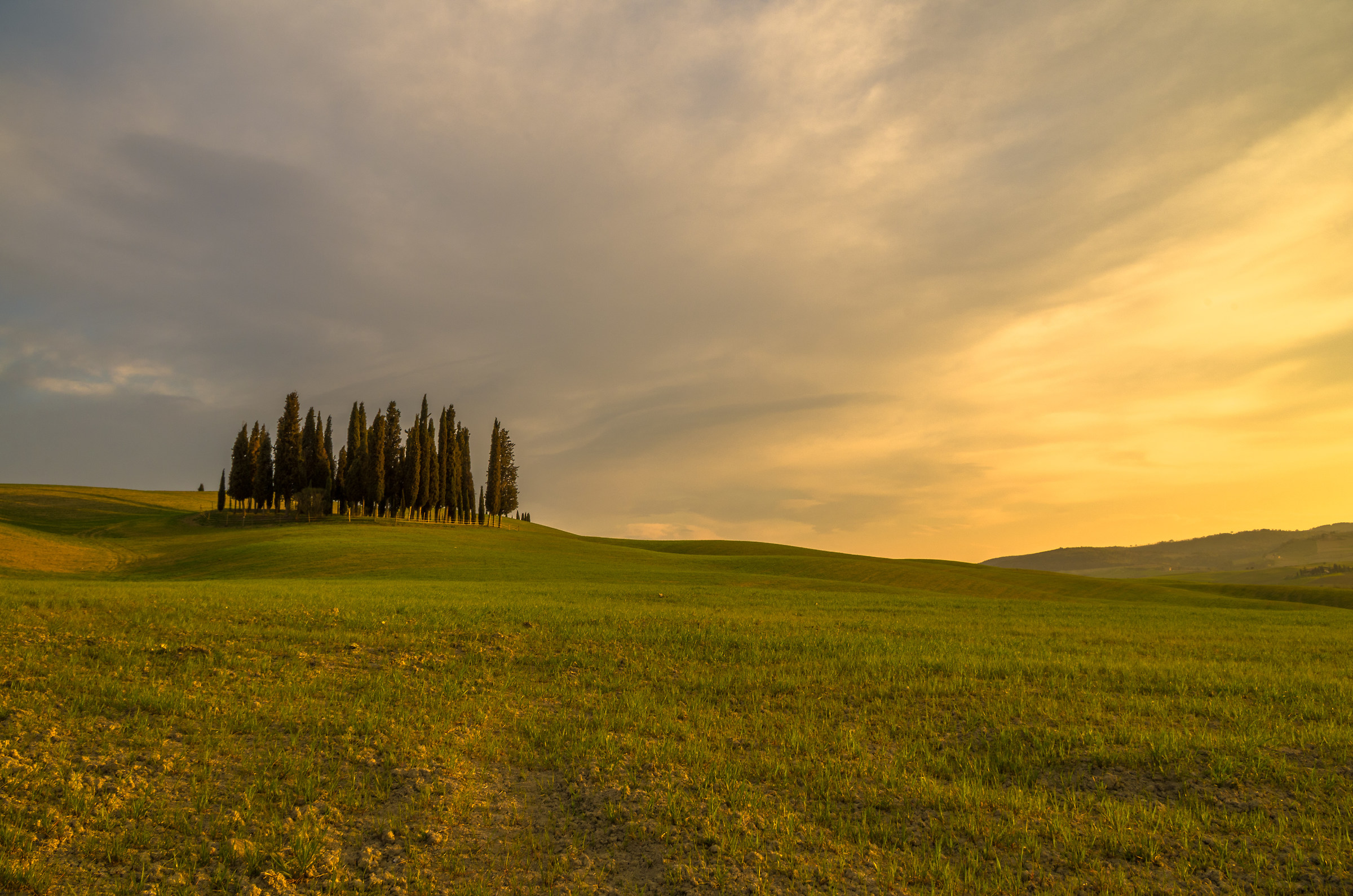 A classic of the Val d'Orcia...