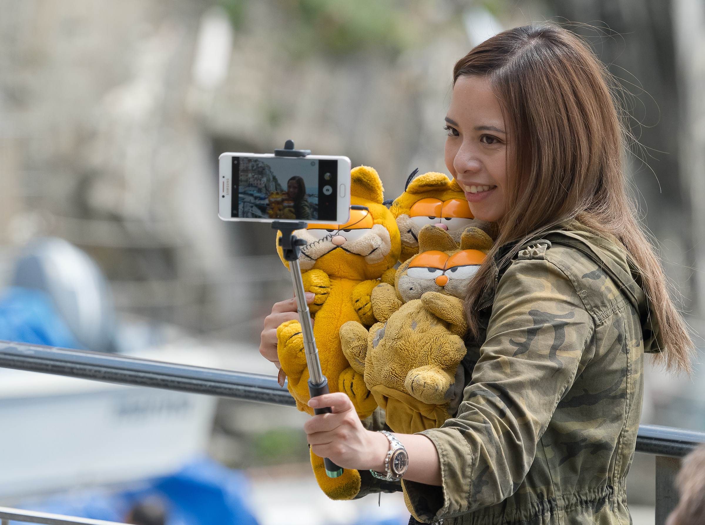 Garfield Selfie...
