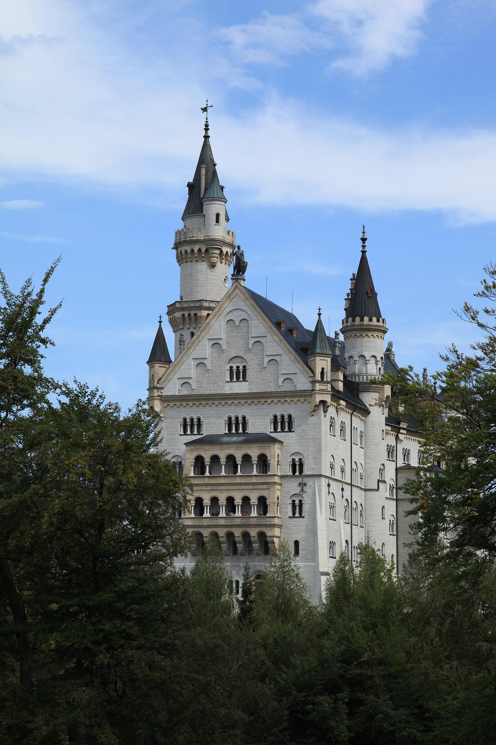Castle of Neuschwanstein...