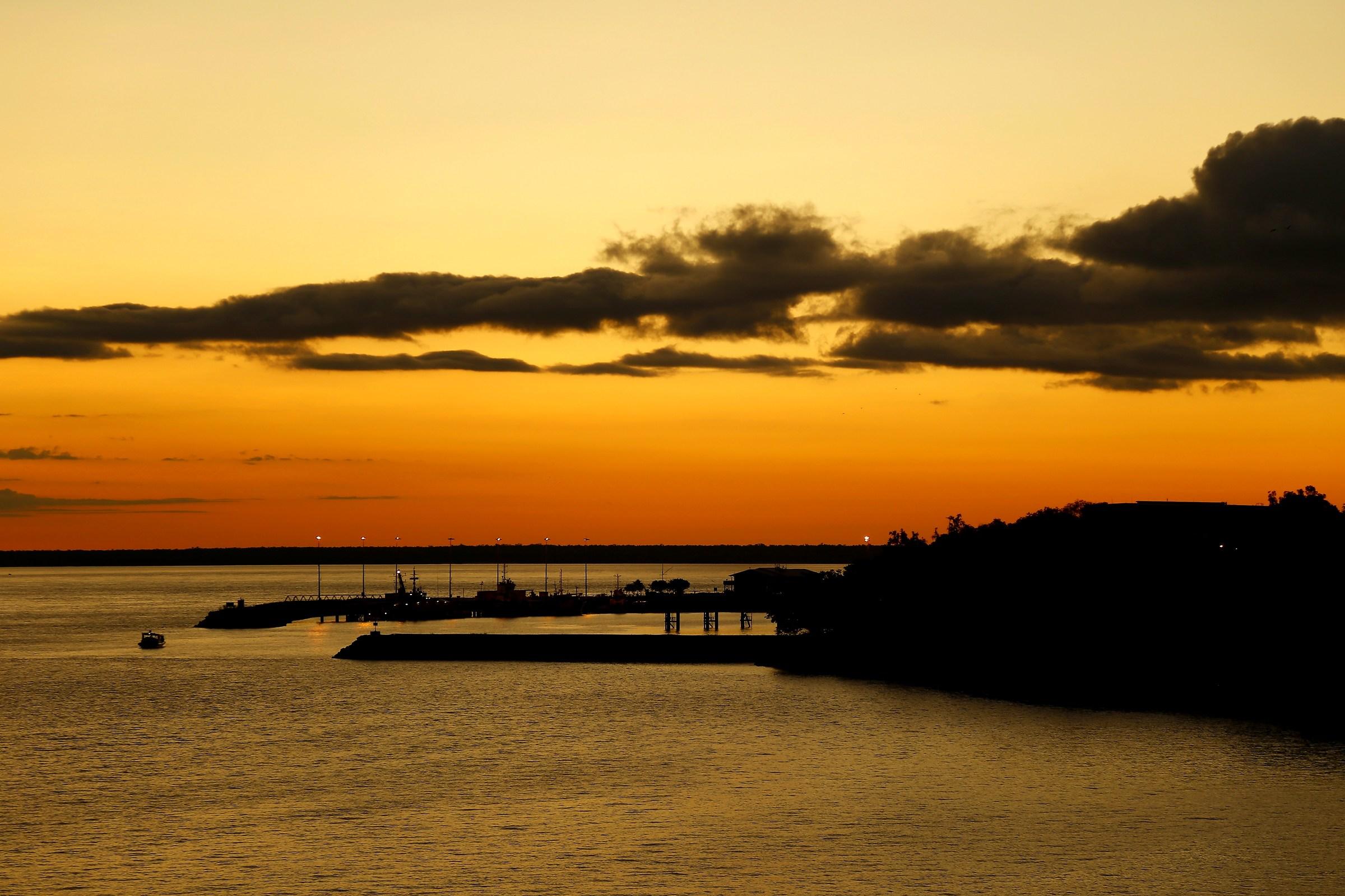 Australian sunset...