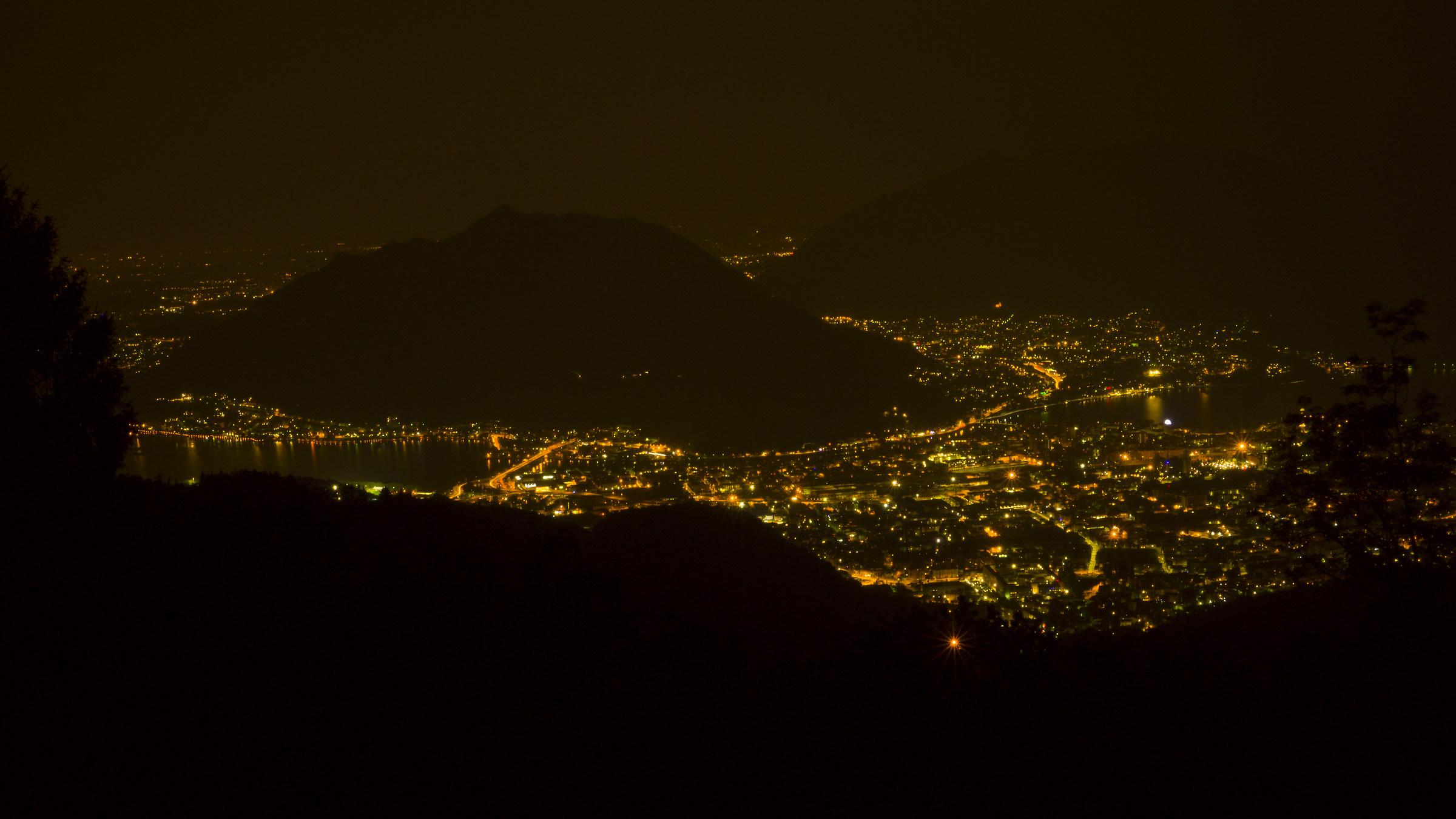 Lecco di notte...