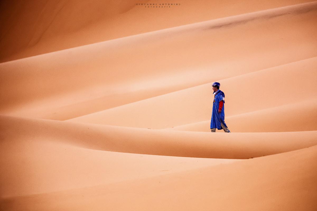 Le désert du Sahara...