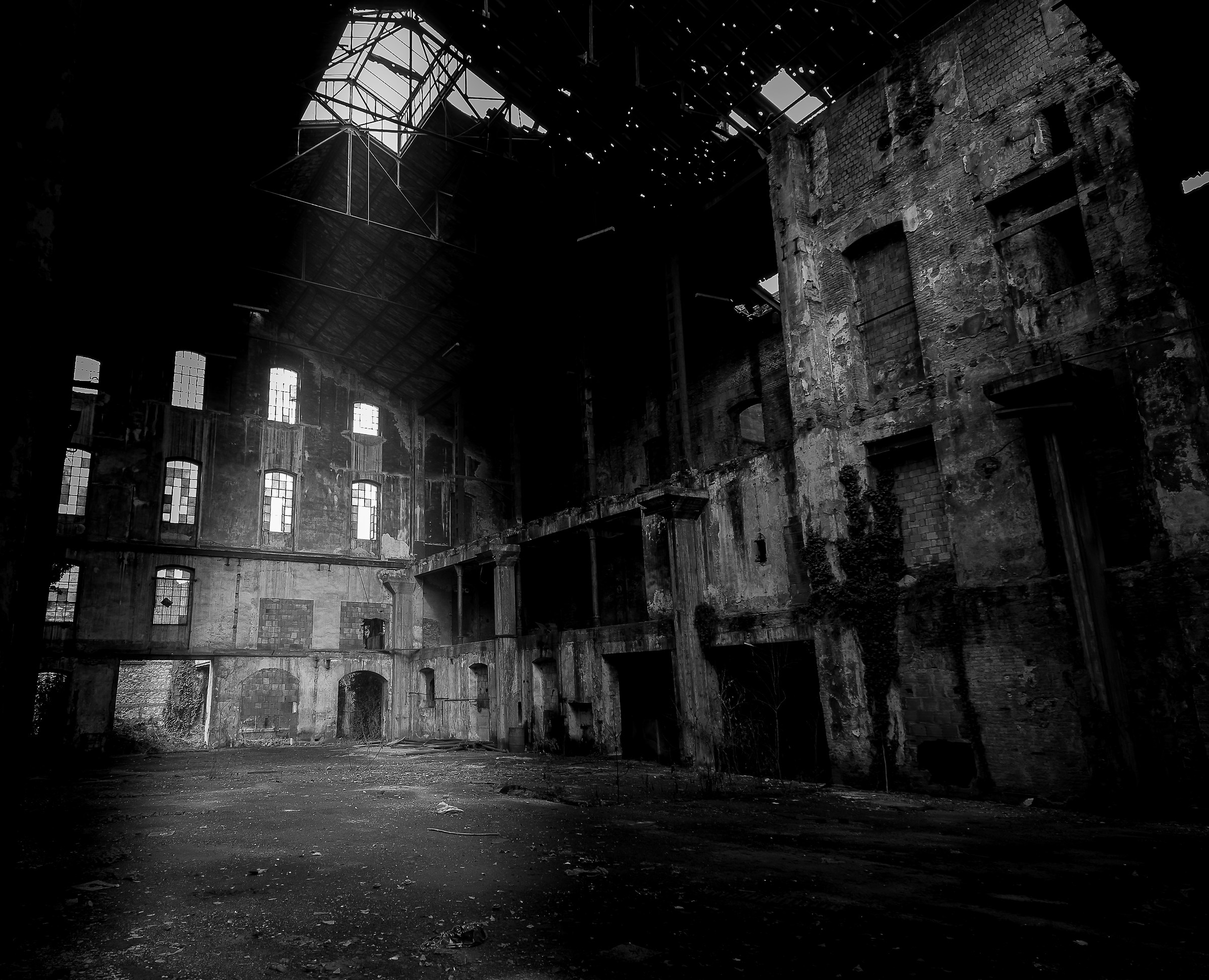 Former sugar factory...