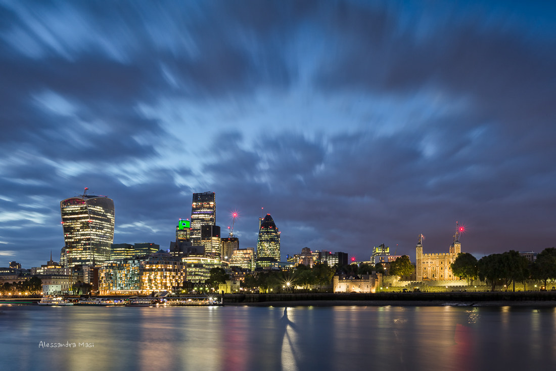 The City, London....