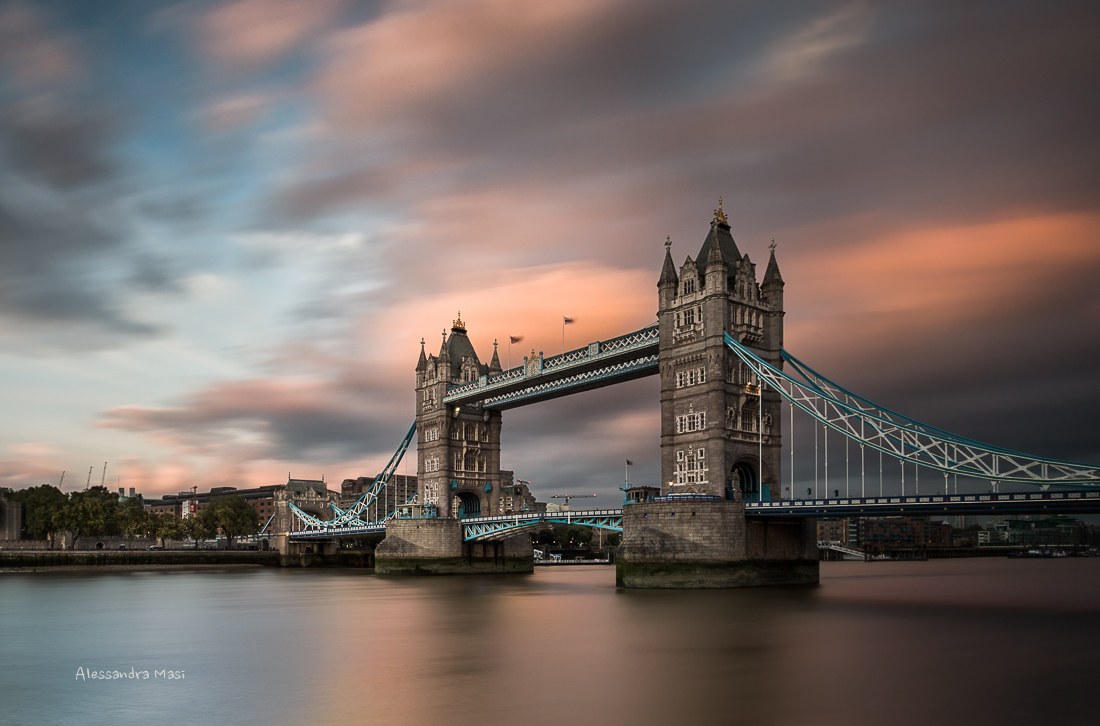 Sunset on Tower Bridge...