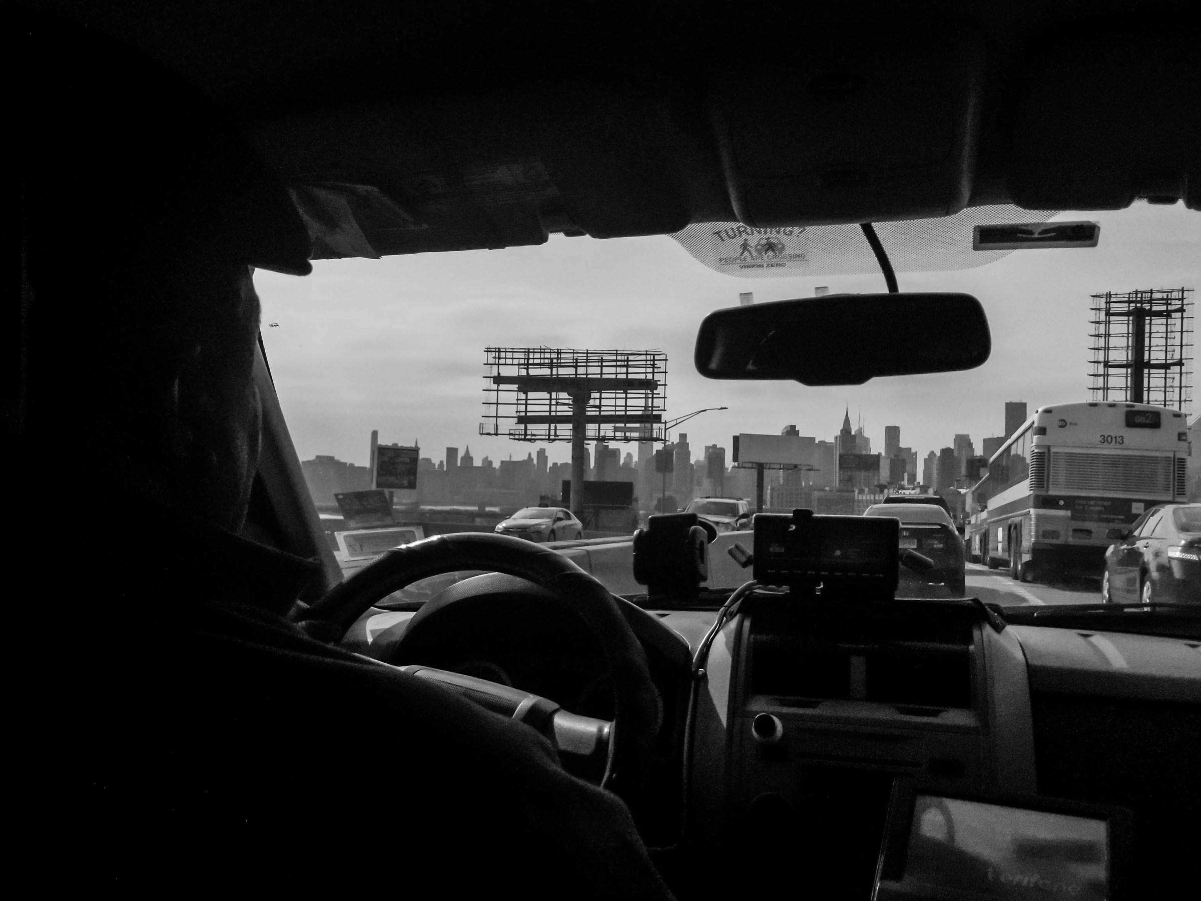 Taxy driver, Manhattan, NY...