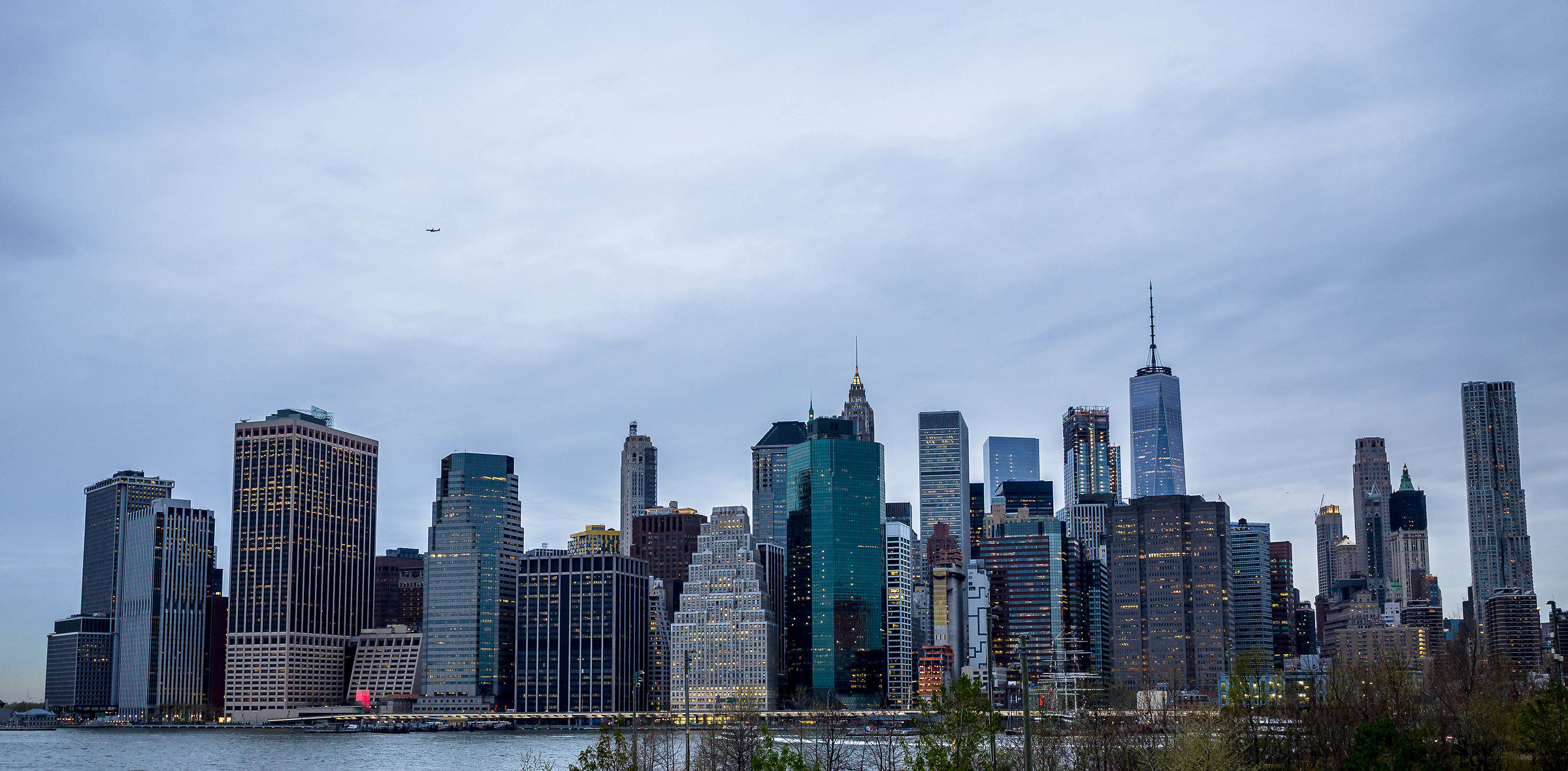 Downtown, Manhattan...