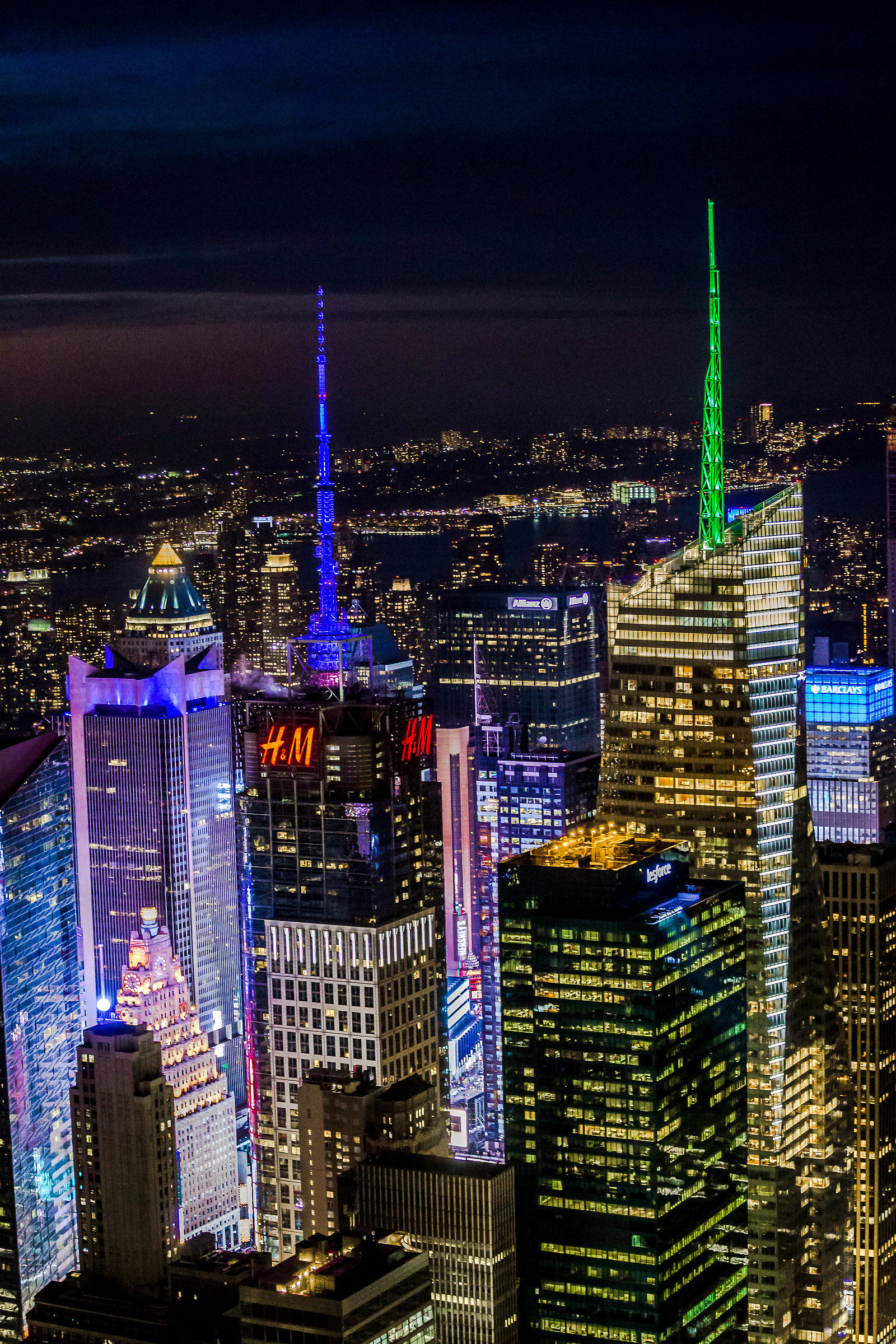 Night from the Empire State Building...