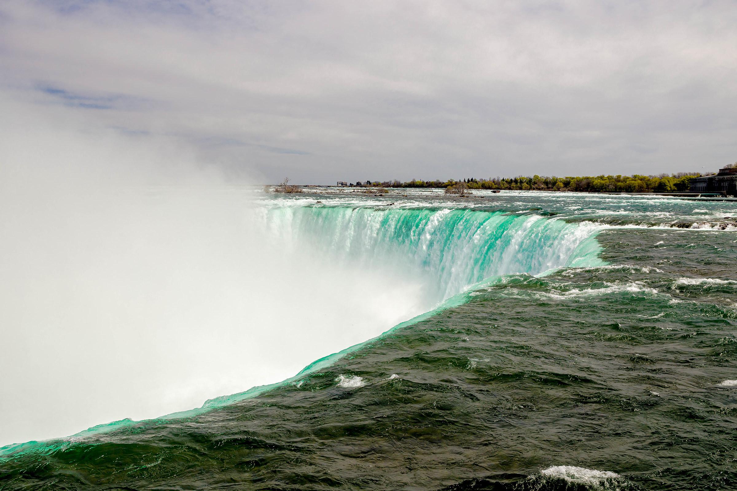 Niagara falls, canadian side...