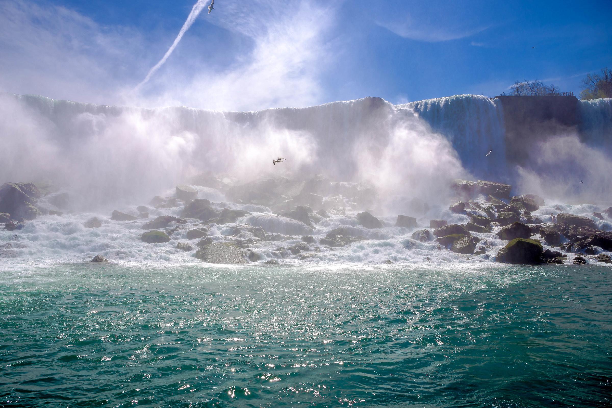 Niagara falls, american side...