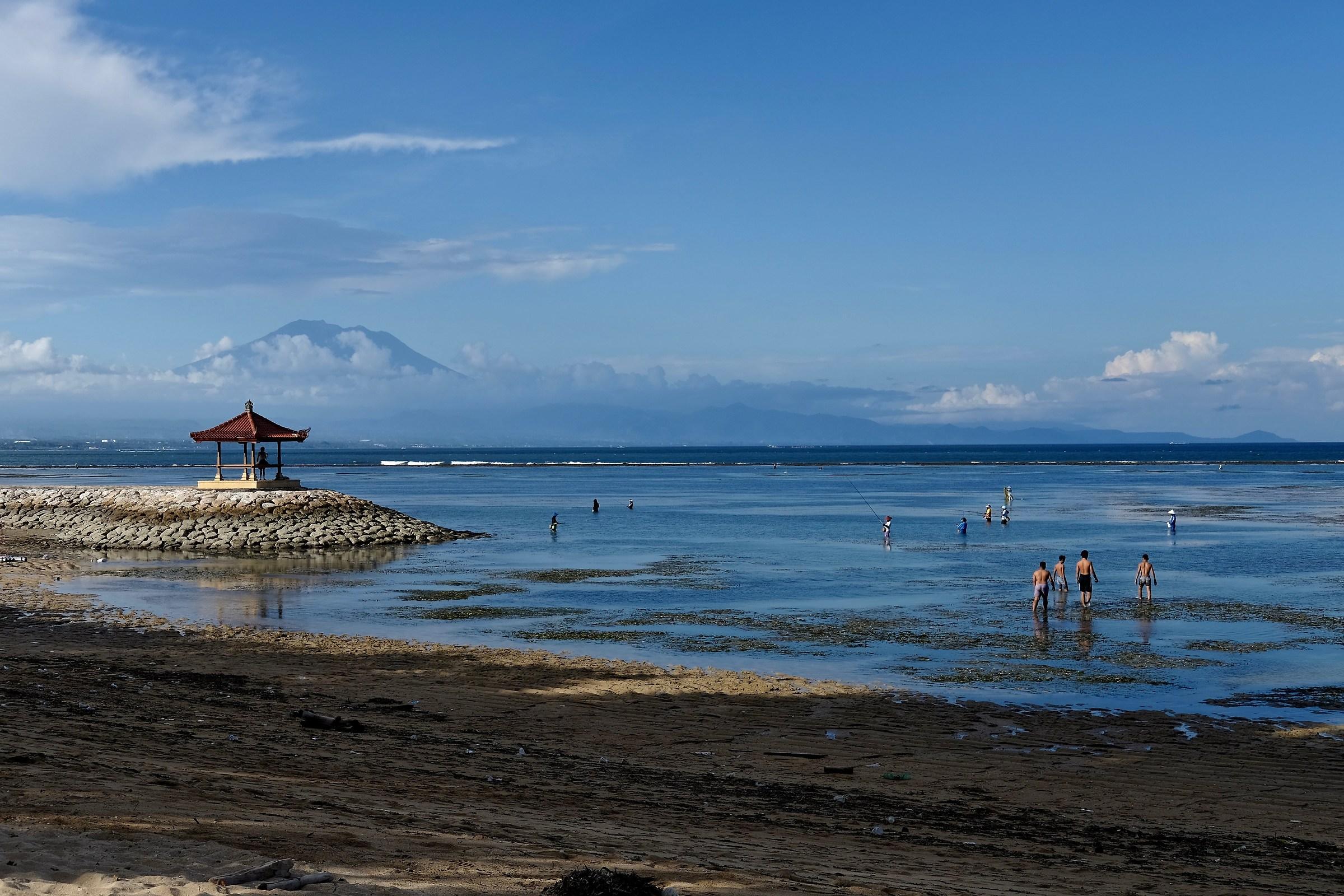 Sanur beach...