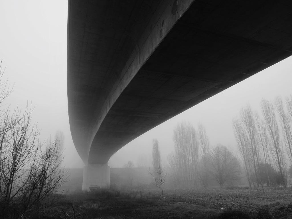 Bridge silouette...