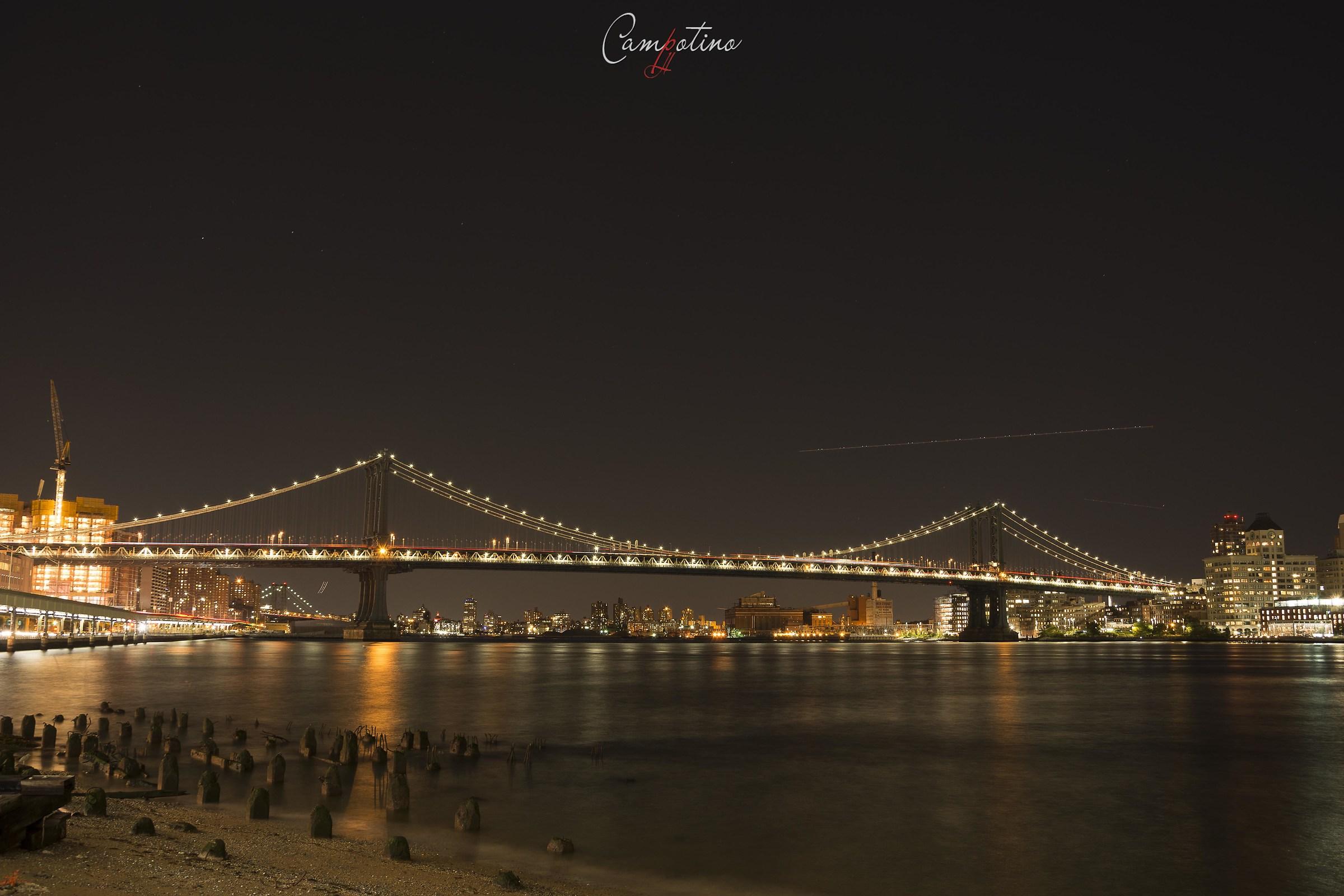 Manhattan bridge...