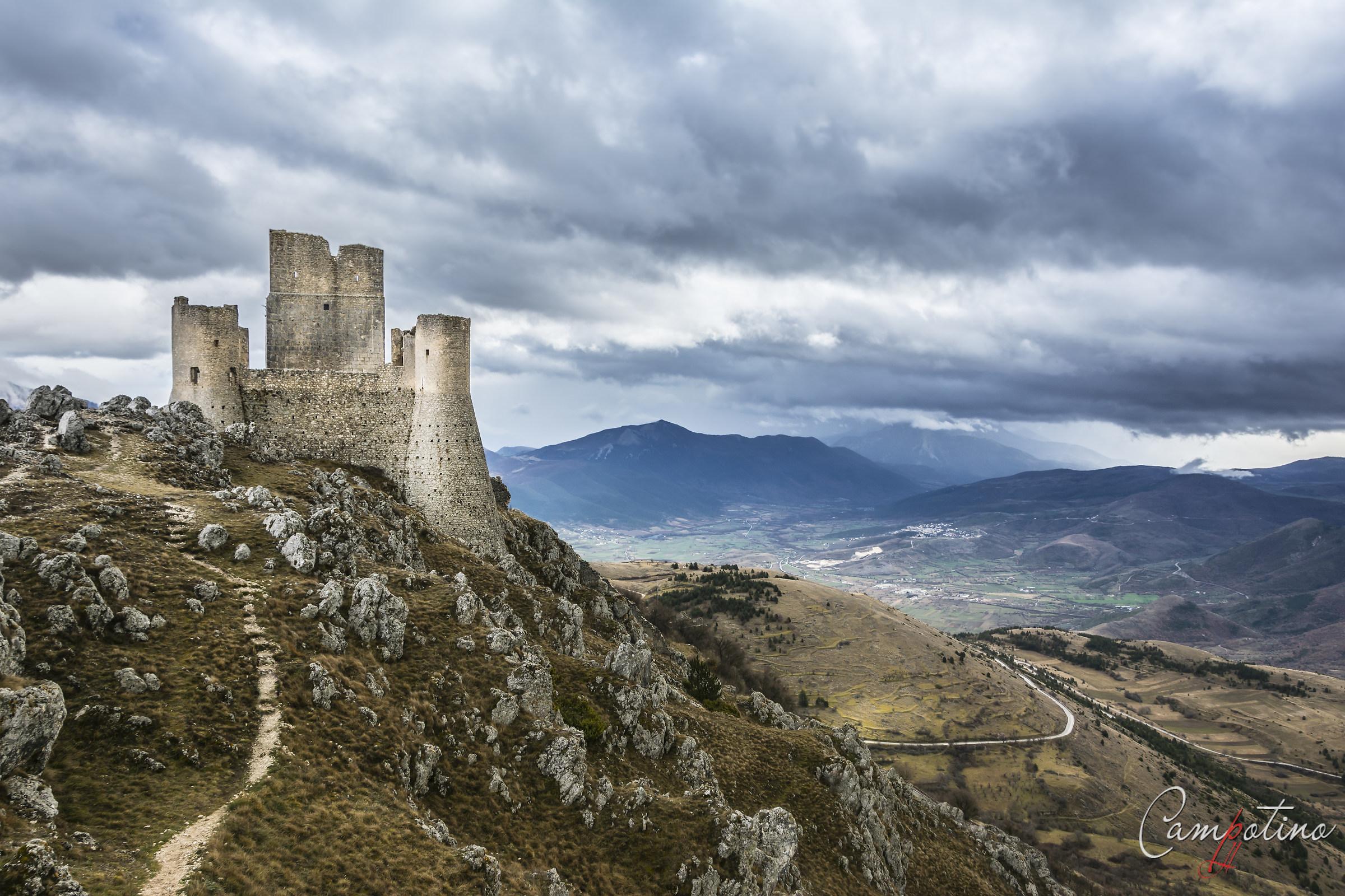 Calasque fortress...