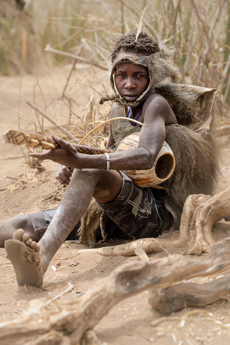 Awesome Hadza encounter: Feeling delicious it sounds...