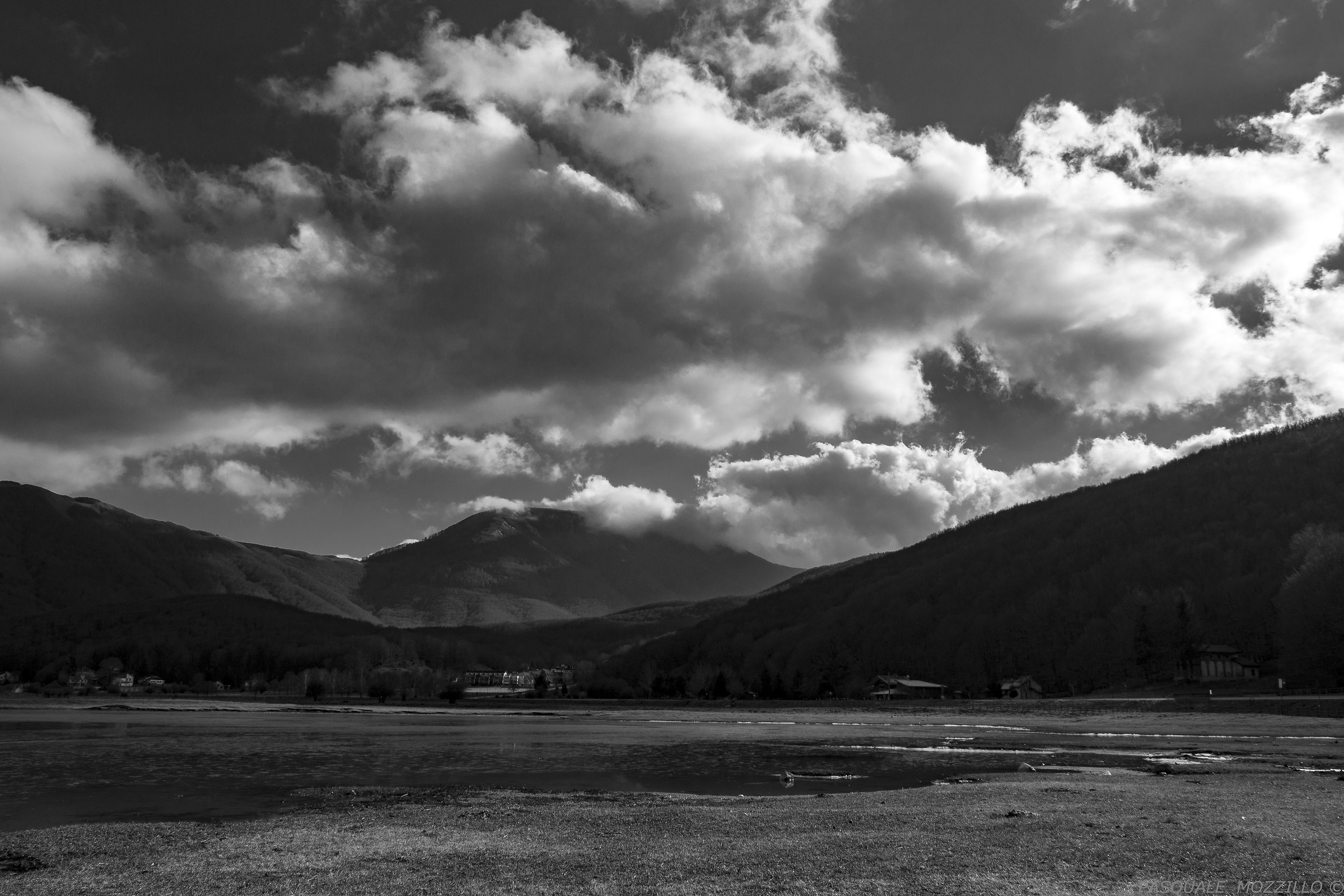 Among the mountains...