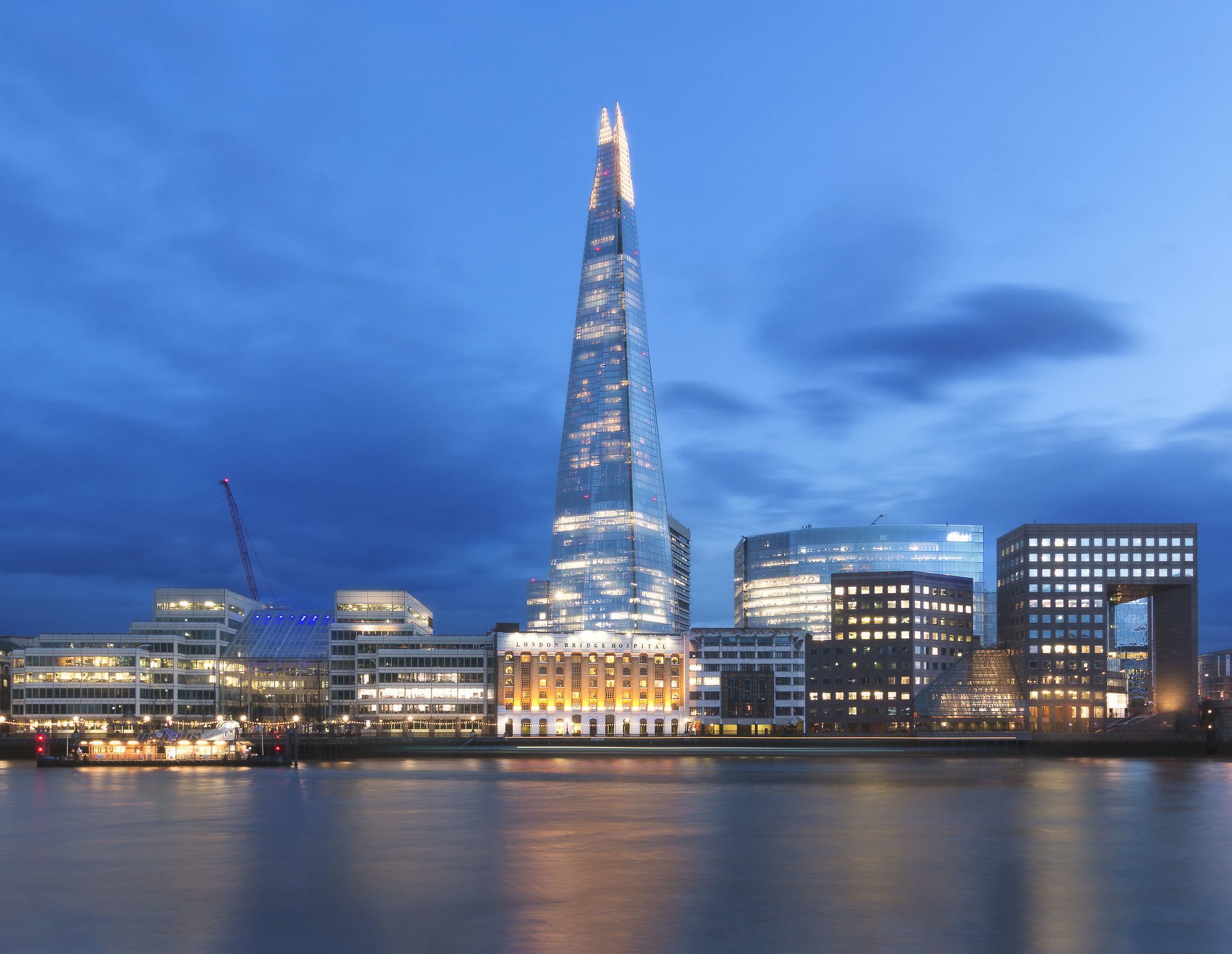 Shard and long thai -blue hour-...